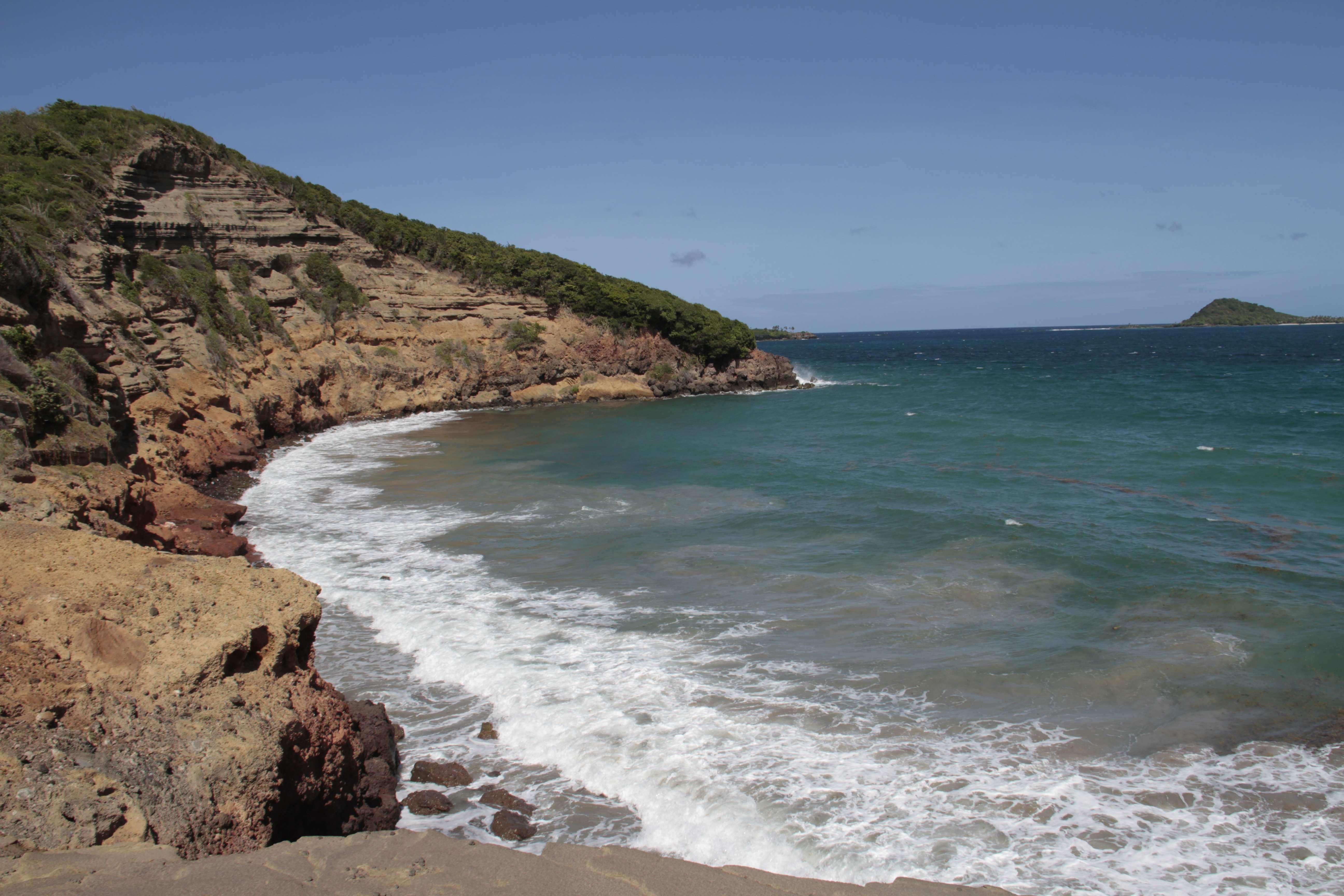 Grenade_0129 point at Levara Beach