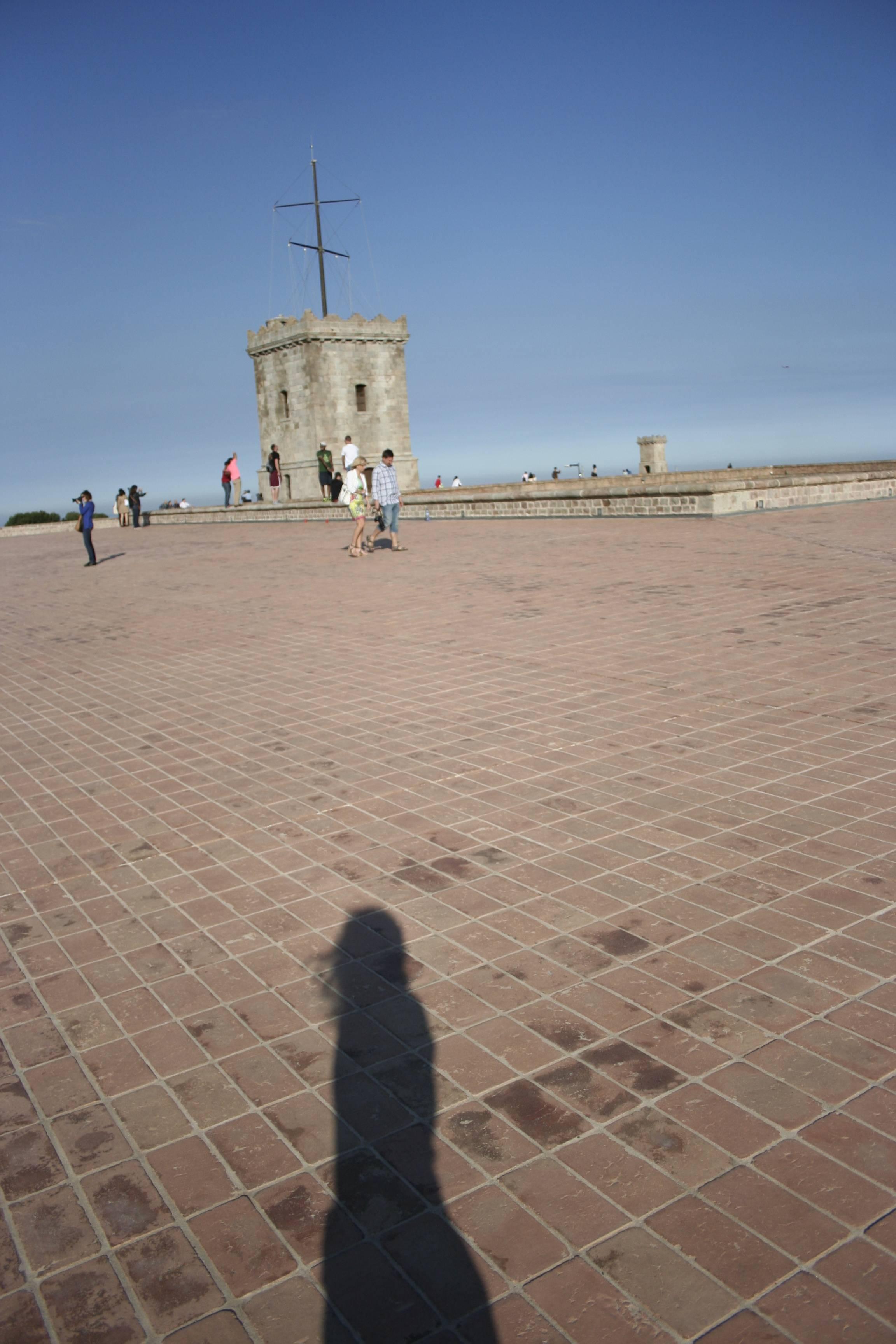Barcelone mai 2013 castel Montjuic