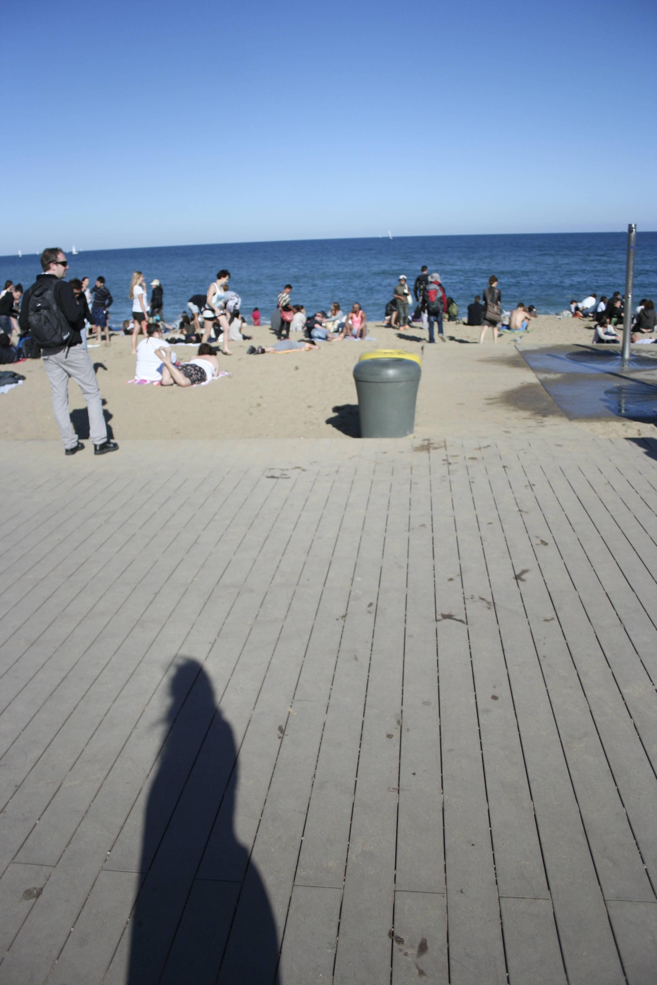 Barcelone mai 2013 plage barcelonetta