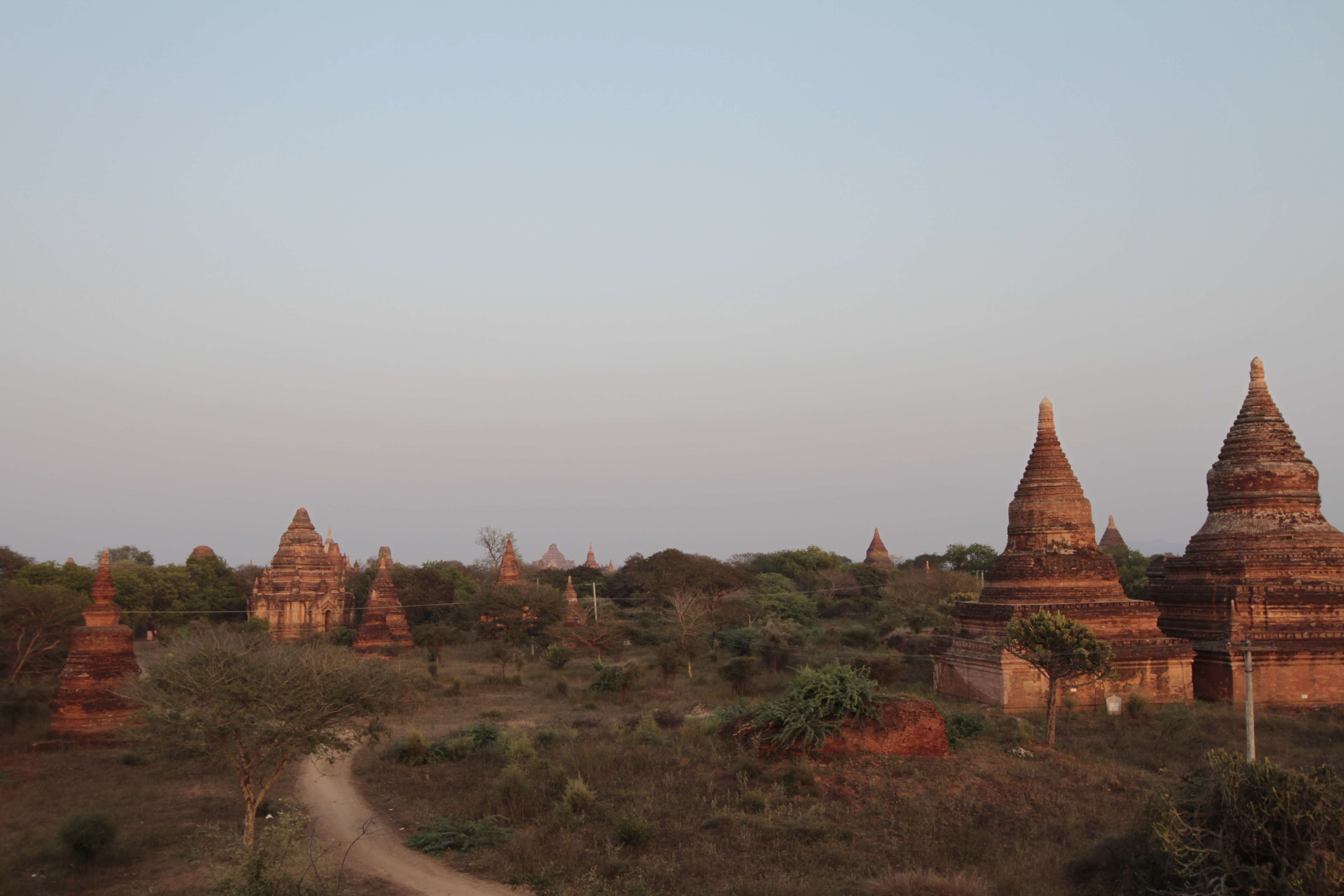 Myanmar fevrier 2019_0200 Bagan depuis temple 1420