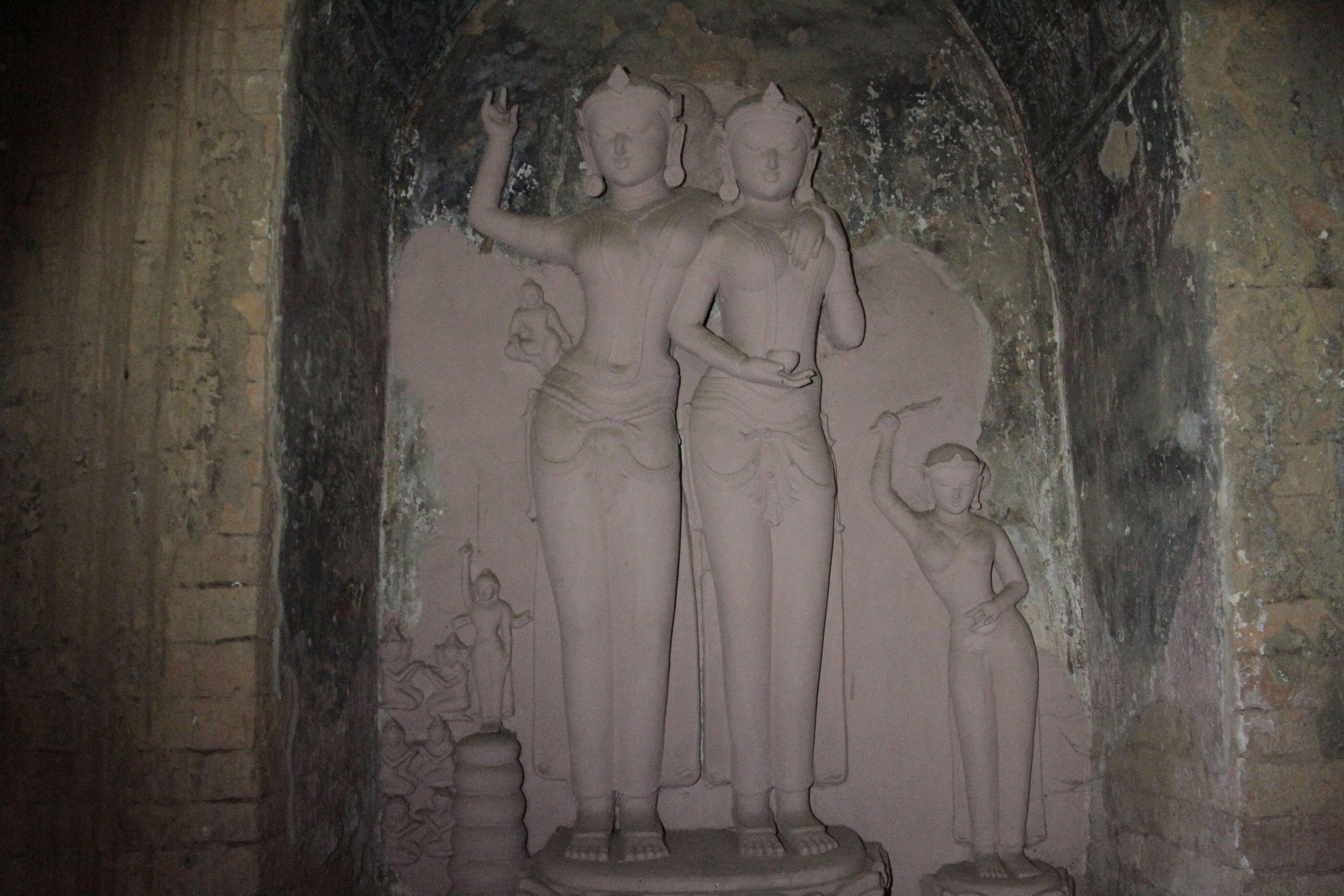 Myanmar fevrier 2019_0296 Bagan Gubyauk Nge temple