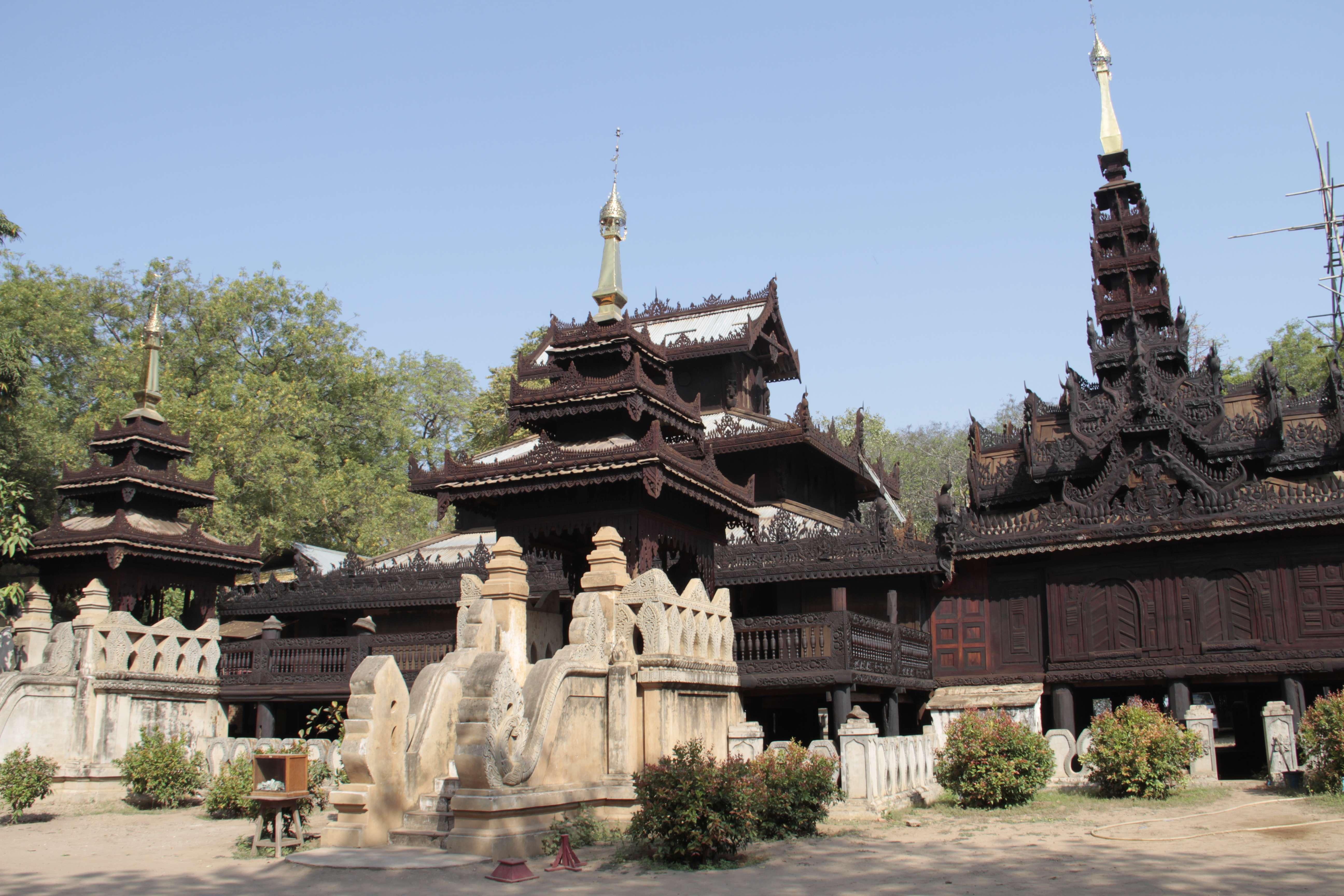 Myanmar fevrier 2019_0525 Bagan Nat Taung Kyaung Monastery