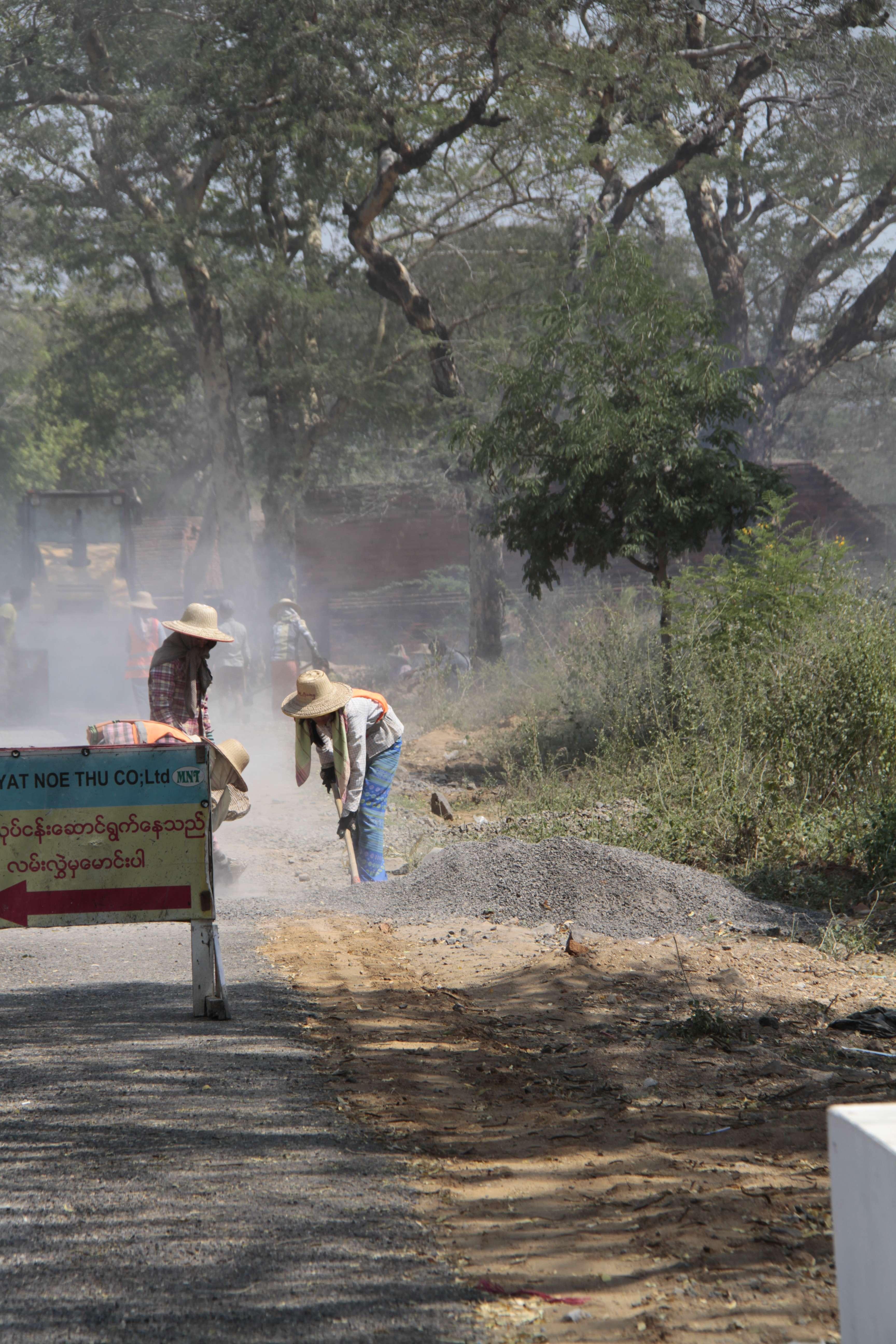 Myanmar fevrier 2019_0551 Bagan travaux