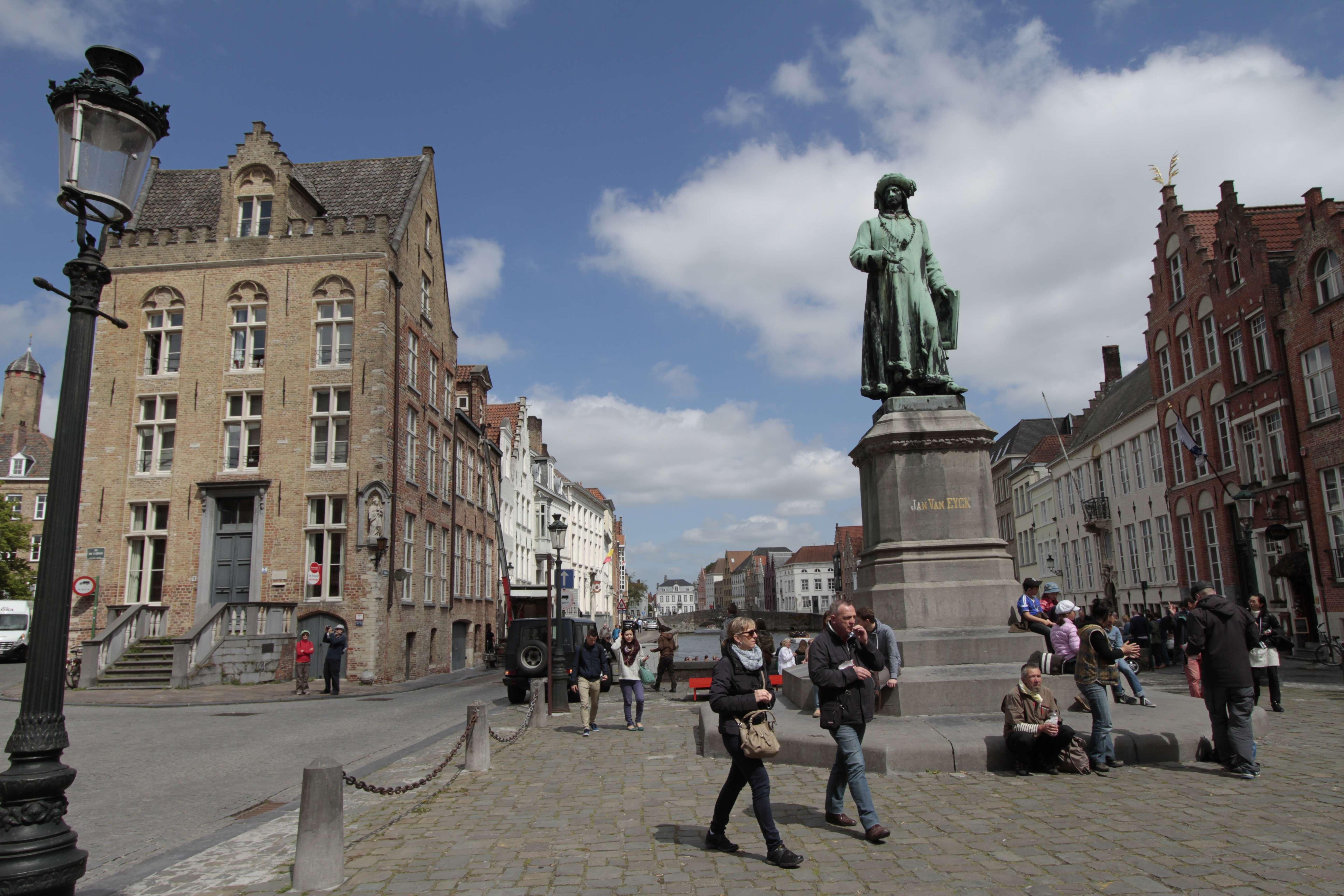 Belgique mai 2015_0170 Bruges Jan van Eyckplan