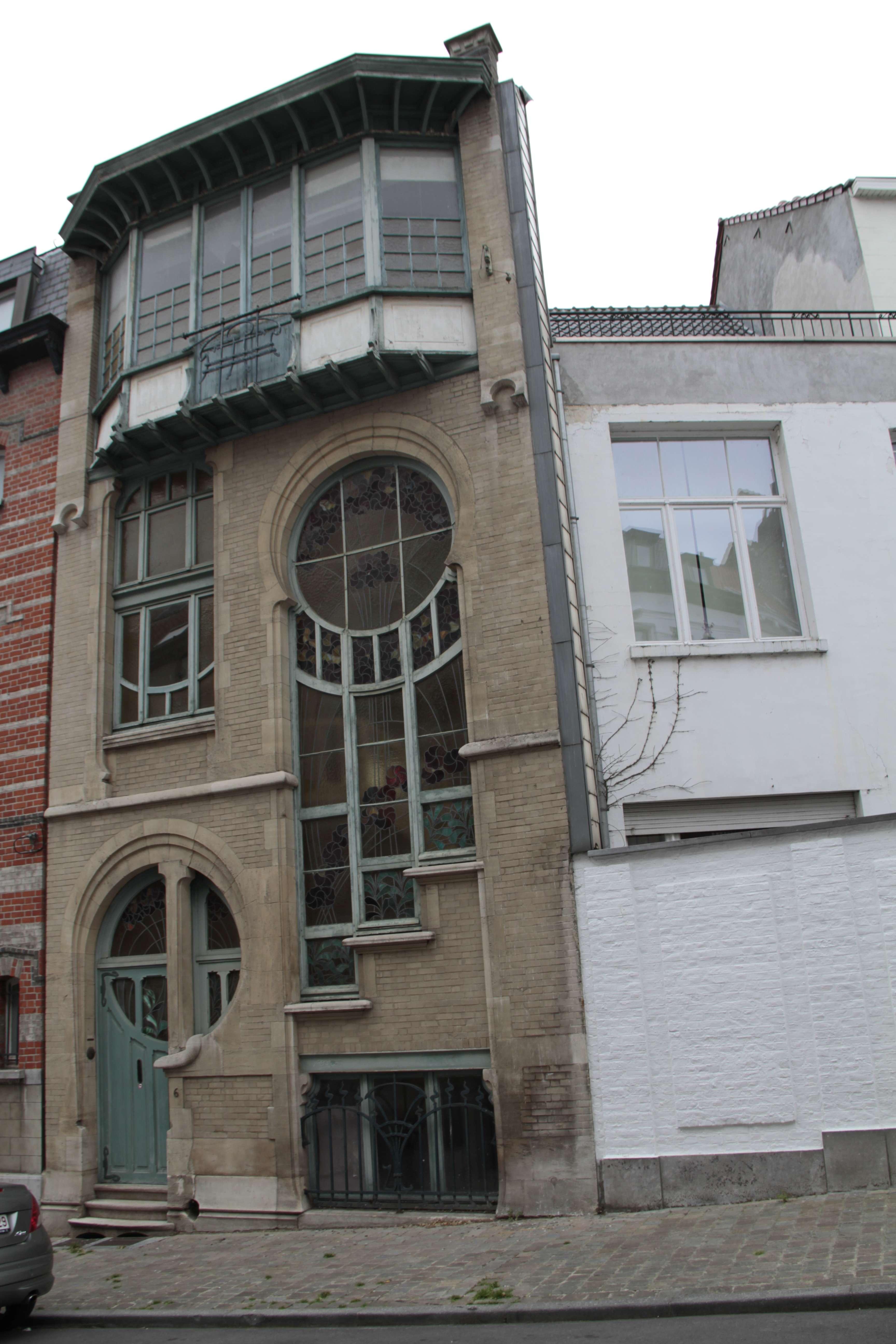 Belgique mai 2015_0240 Bruxelles circuit Art nouveau 6 rue du Lac