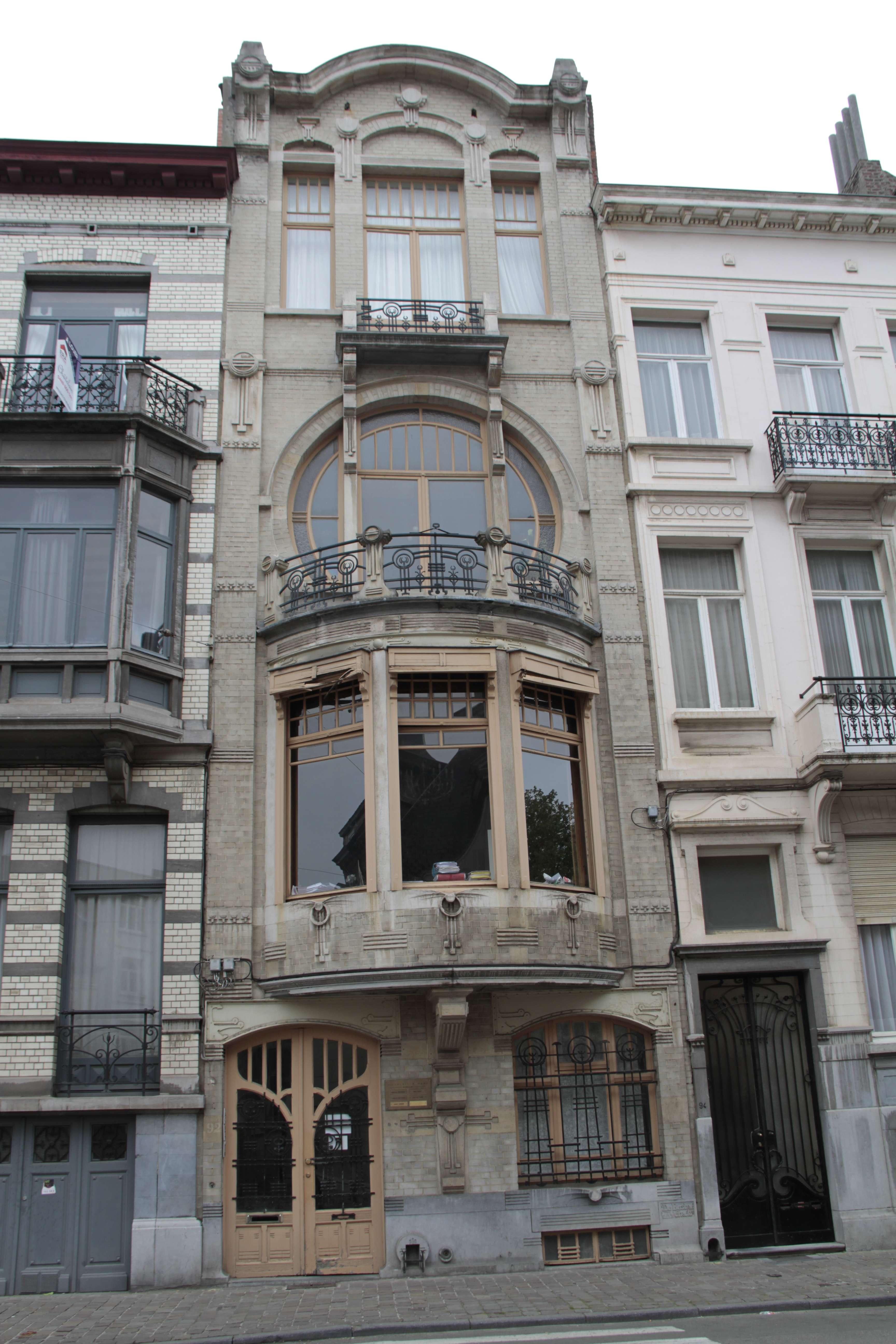 Belgique mai 2015_0256 Bruxelles circuit Art nouveau rue Africaine