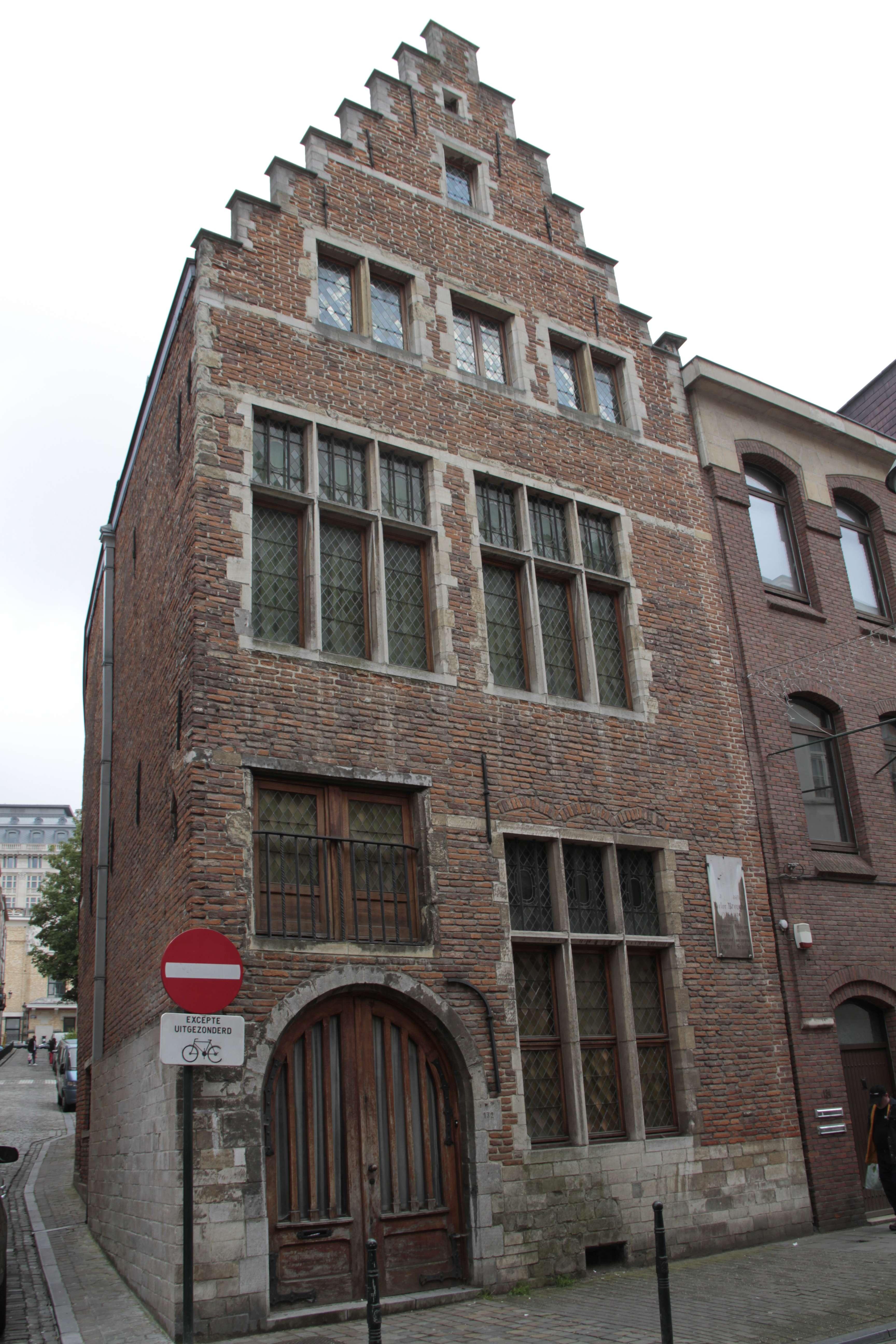 Belgique mai 2015_0279 Bruxelles Marolles maison Bruegel