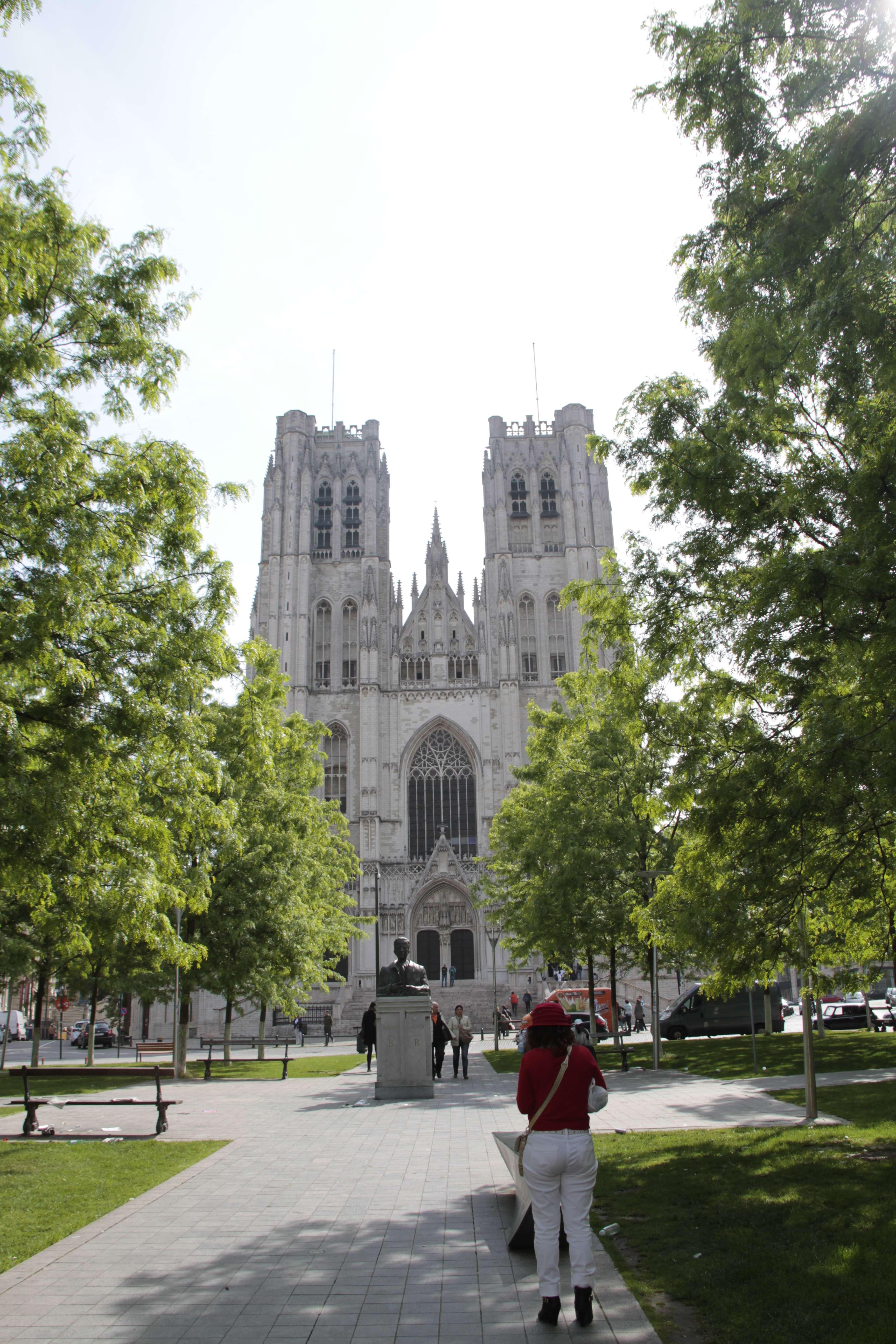 Belgique mai 2015_0290 Bruxelles cathédrale St Michel et Gudule