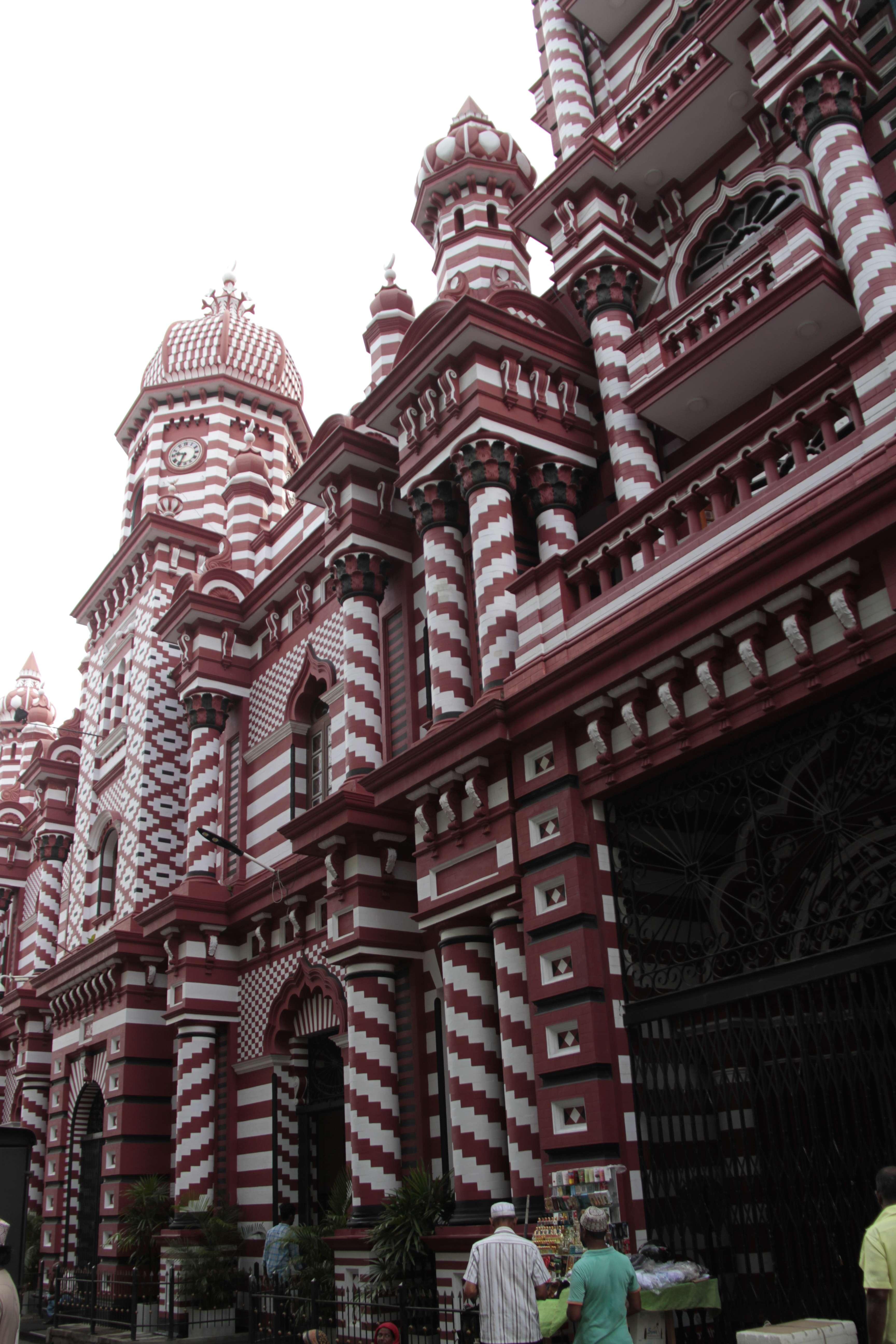 Sri Lanka aout 2017_0019 Colombo Red Masjid