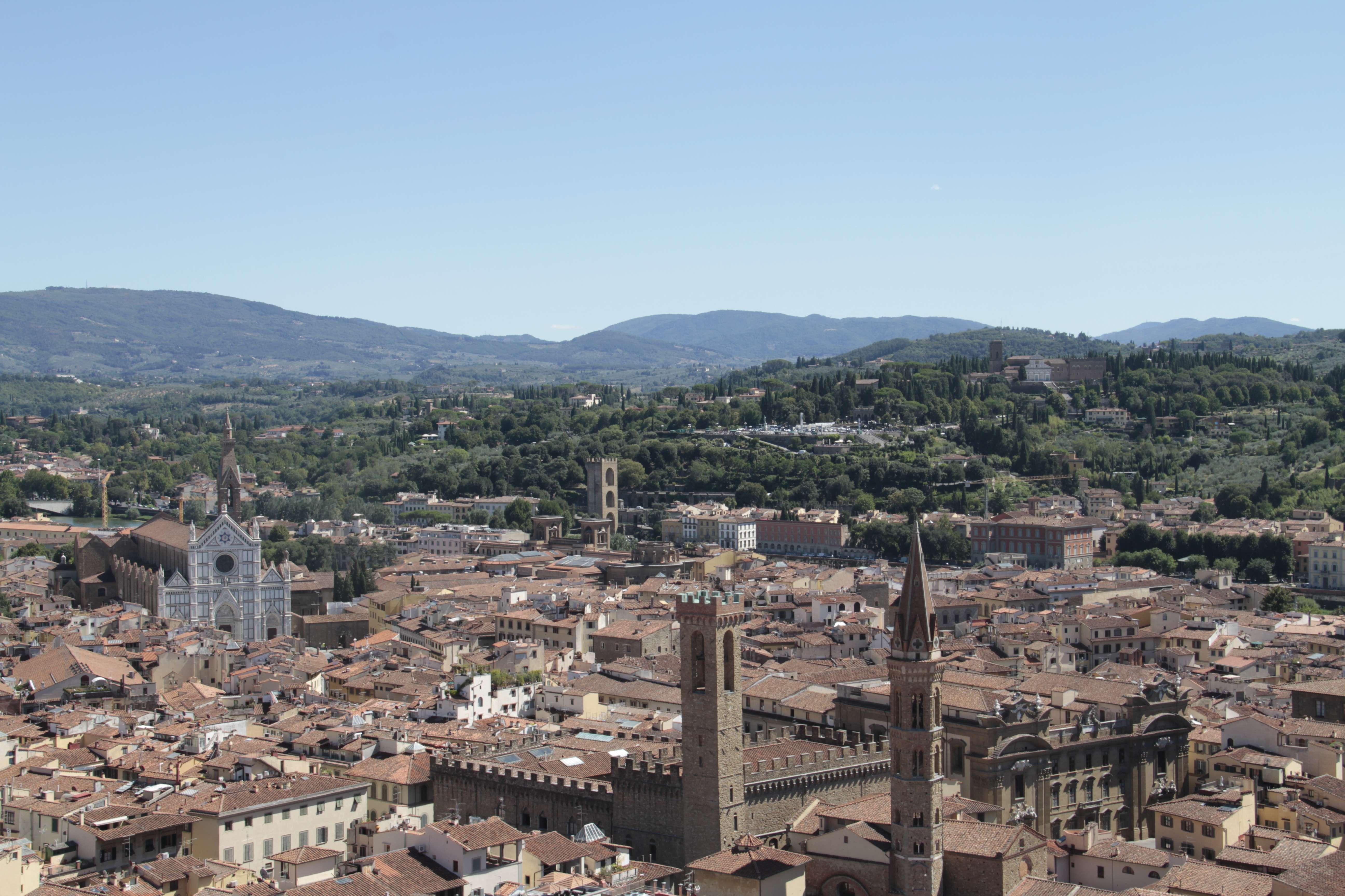 Toscane aout 2016 _0140 Florence du campanile