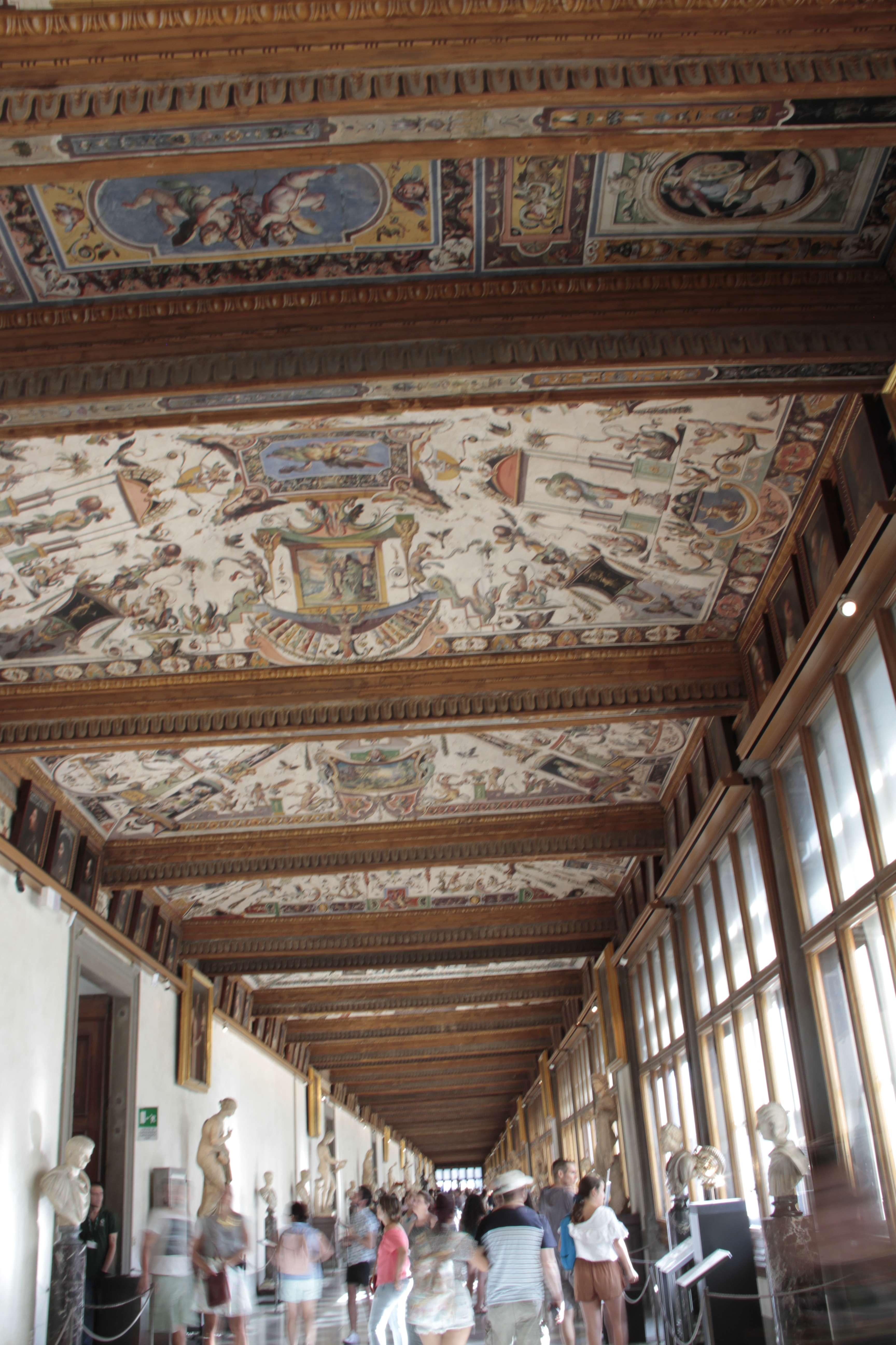 Toscane aout 2016 _0273 Florence galleria deggli Uffizi