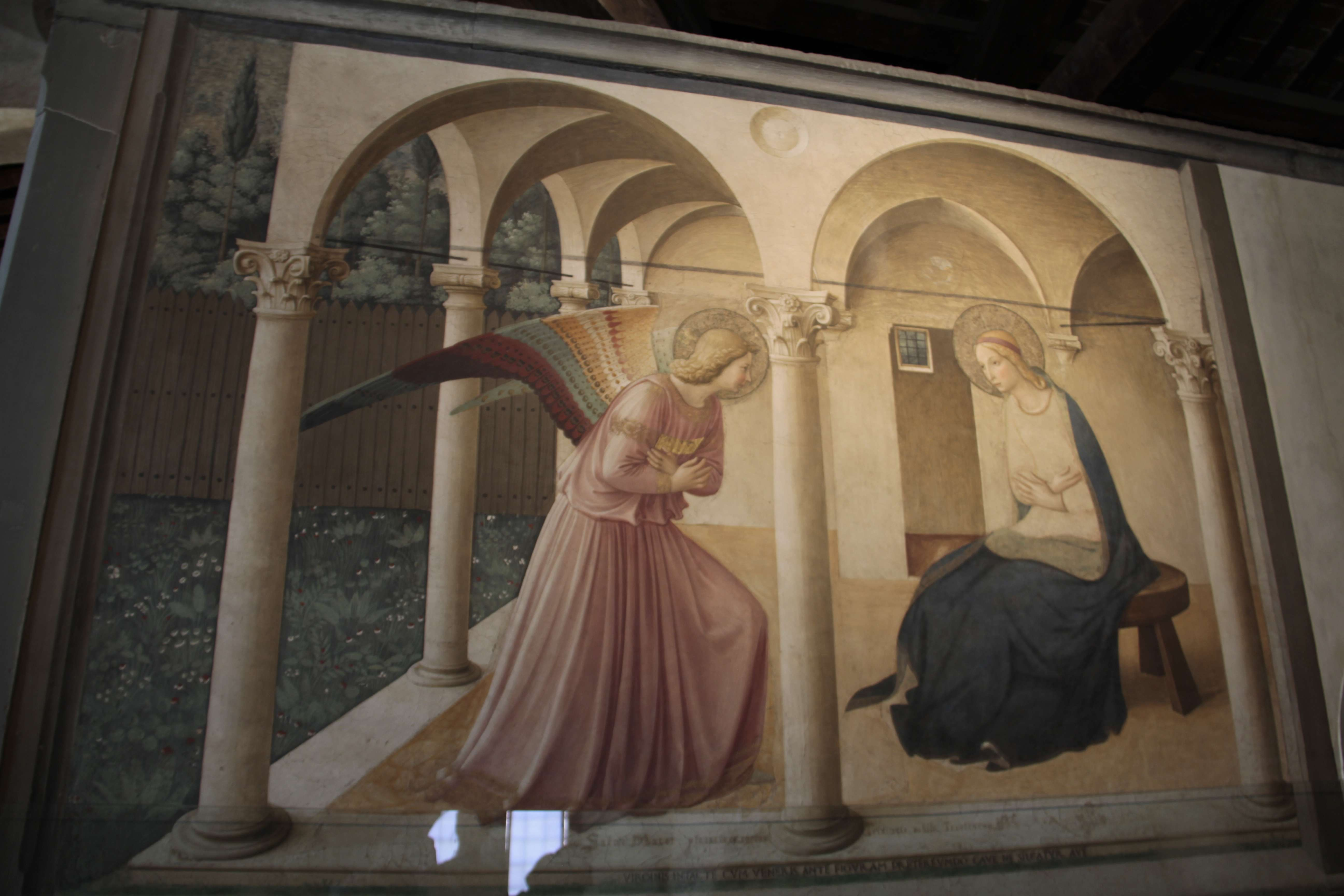 Toscane aout 2016 _0291 Florence San Marco Fra Angelico Annonciation
