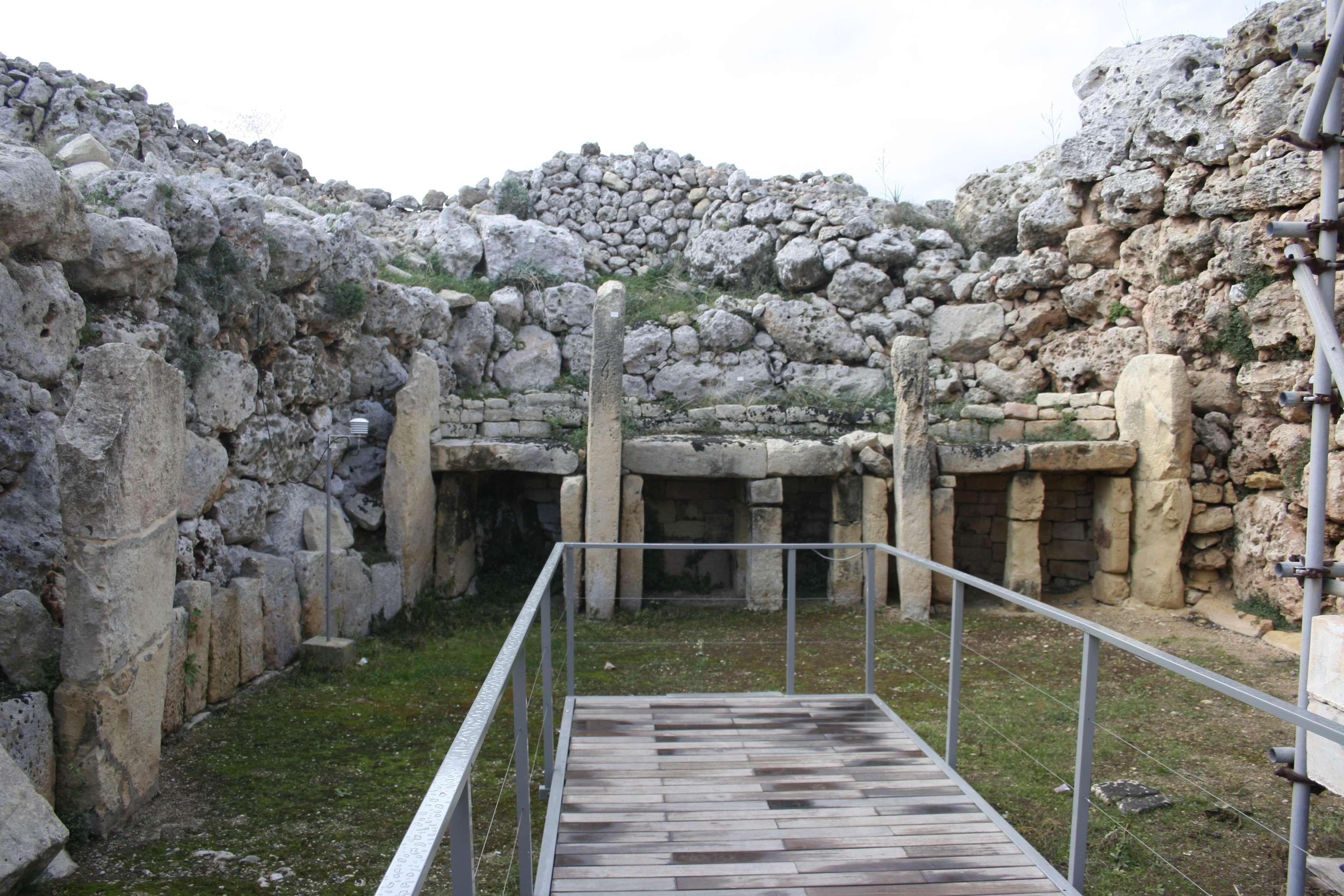 Malte 5073 Gozo Ggantija temples