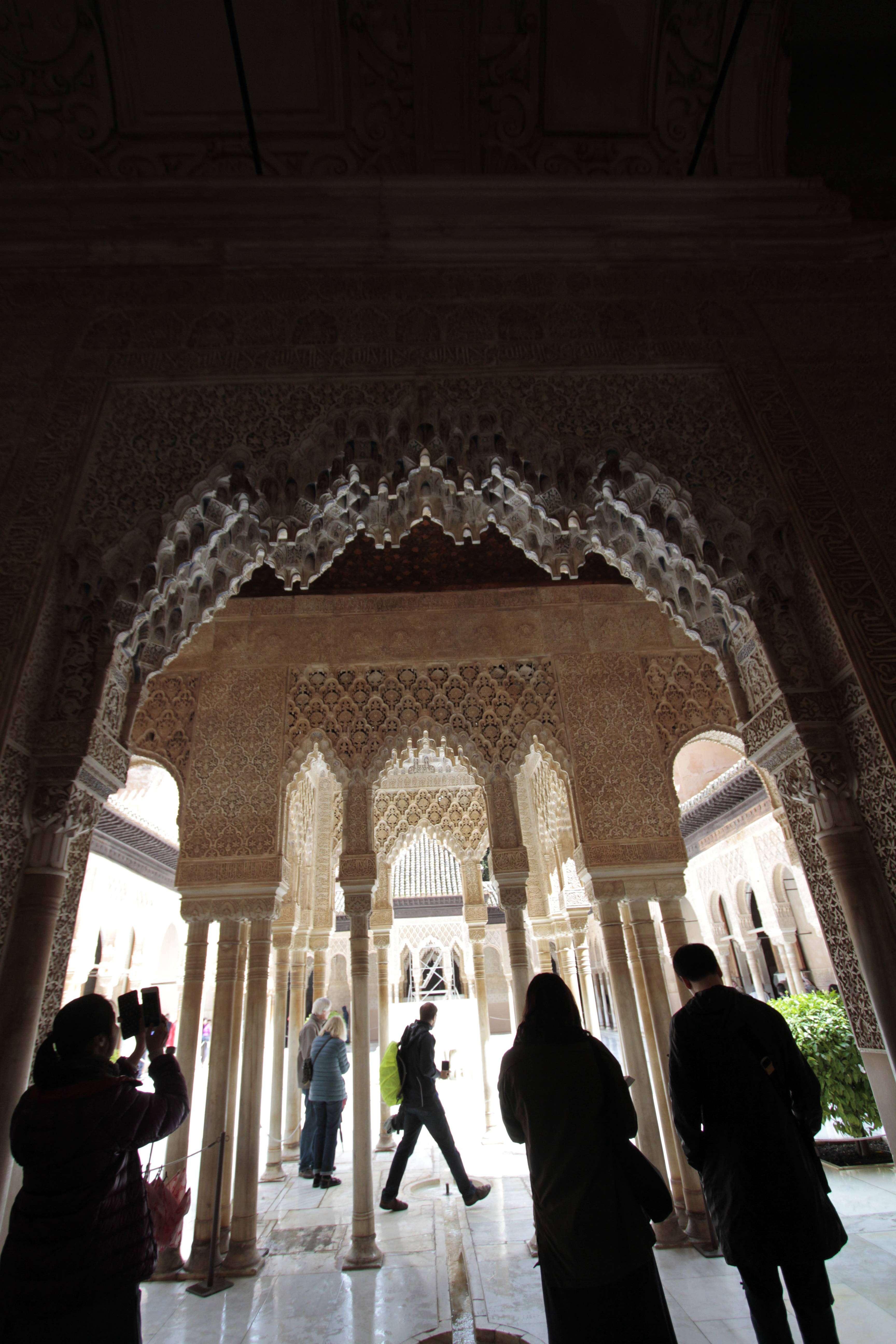 Andalousie _0361 Grenade Alhambra Palais nasrides