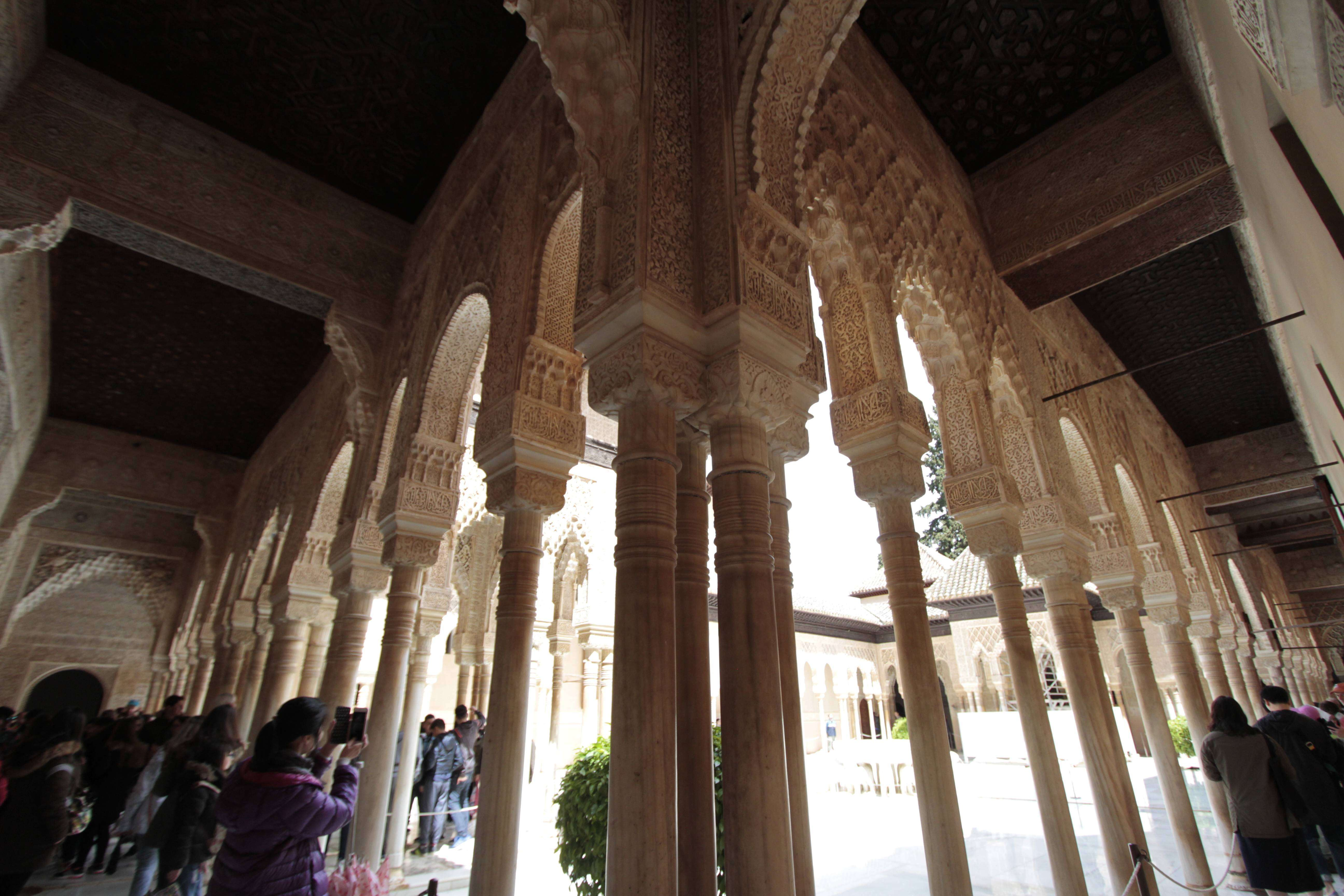 Andalousie _0363 Grenade Alhambra Palais nasrides
