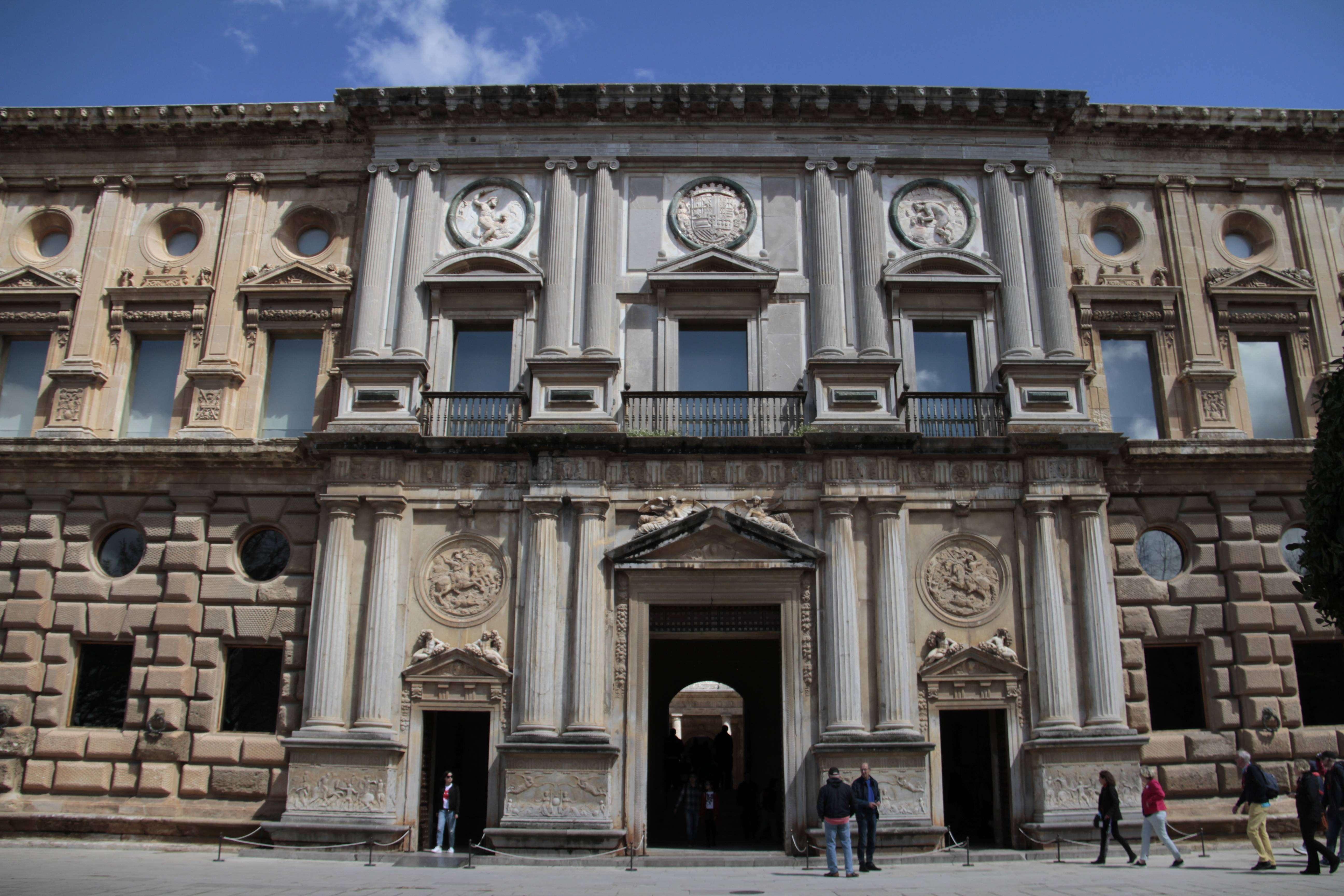Andalousie _0391 Grenade Alhambra Palais de Charles Quint
