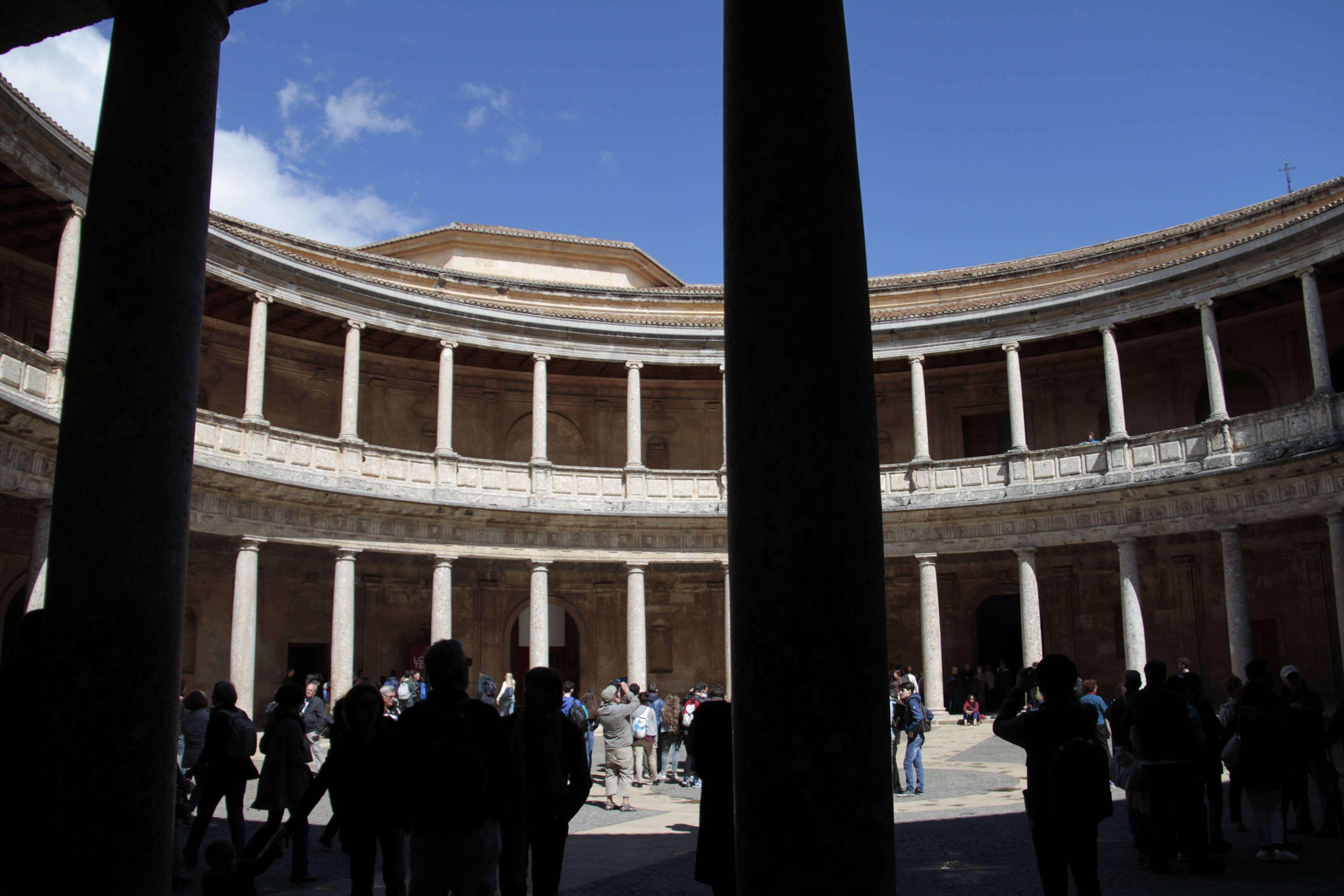 Andalousie _0392 Grenade Alhambra Palais de Charles Quint
