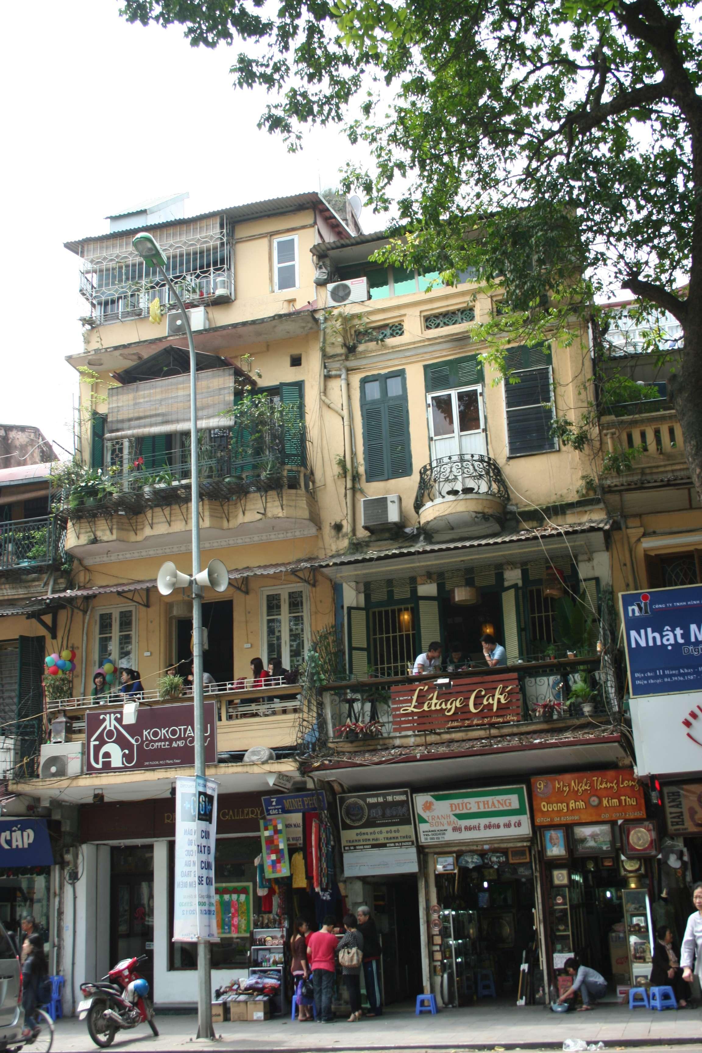 20120408_012 rue dans Hanoi
