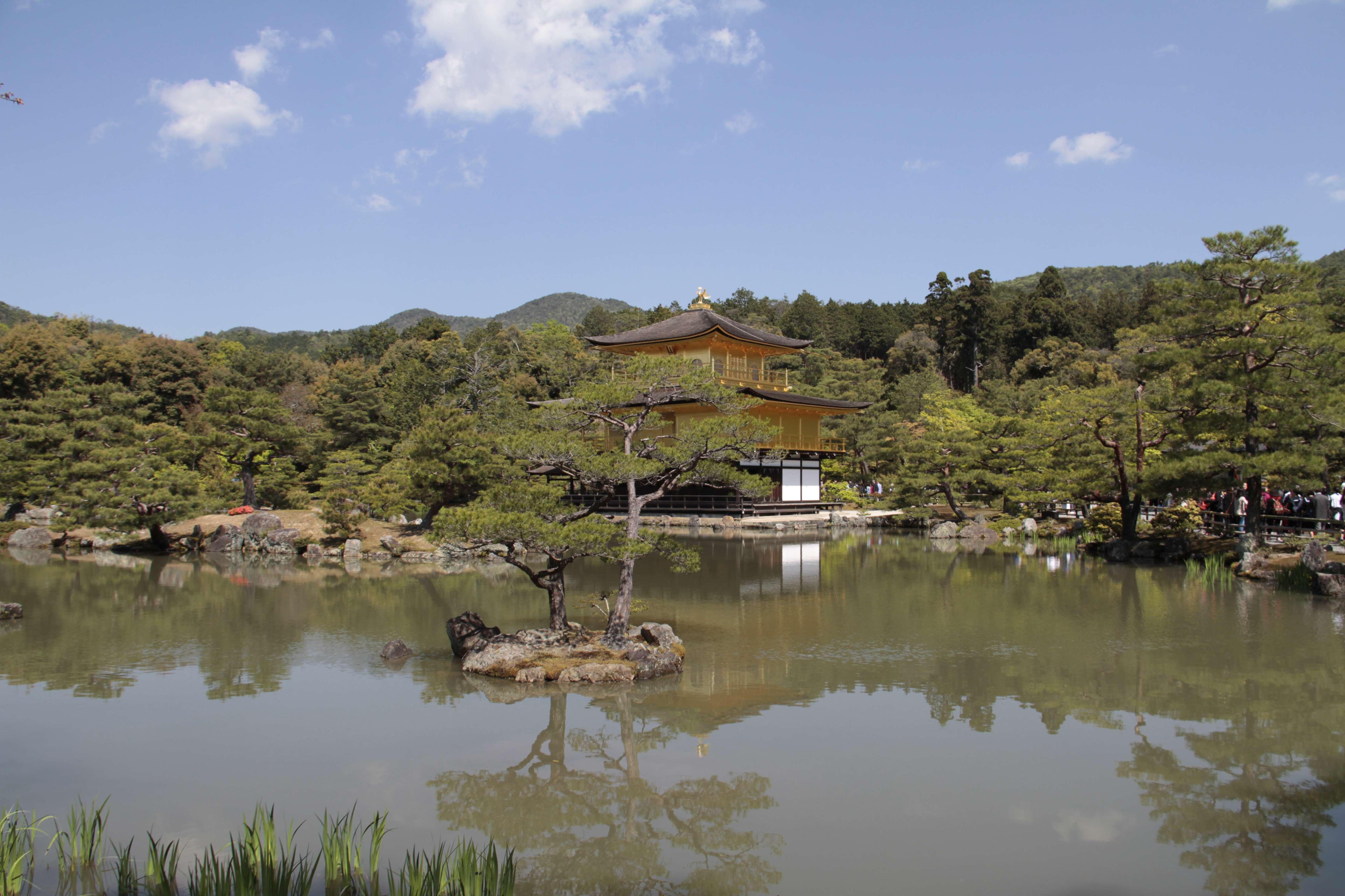 Japon avril 2017_0803 Kyoto Kinkaku Ji dit Pavillon dore