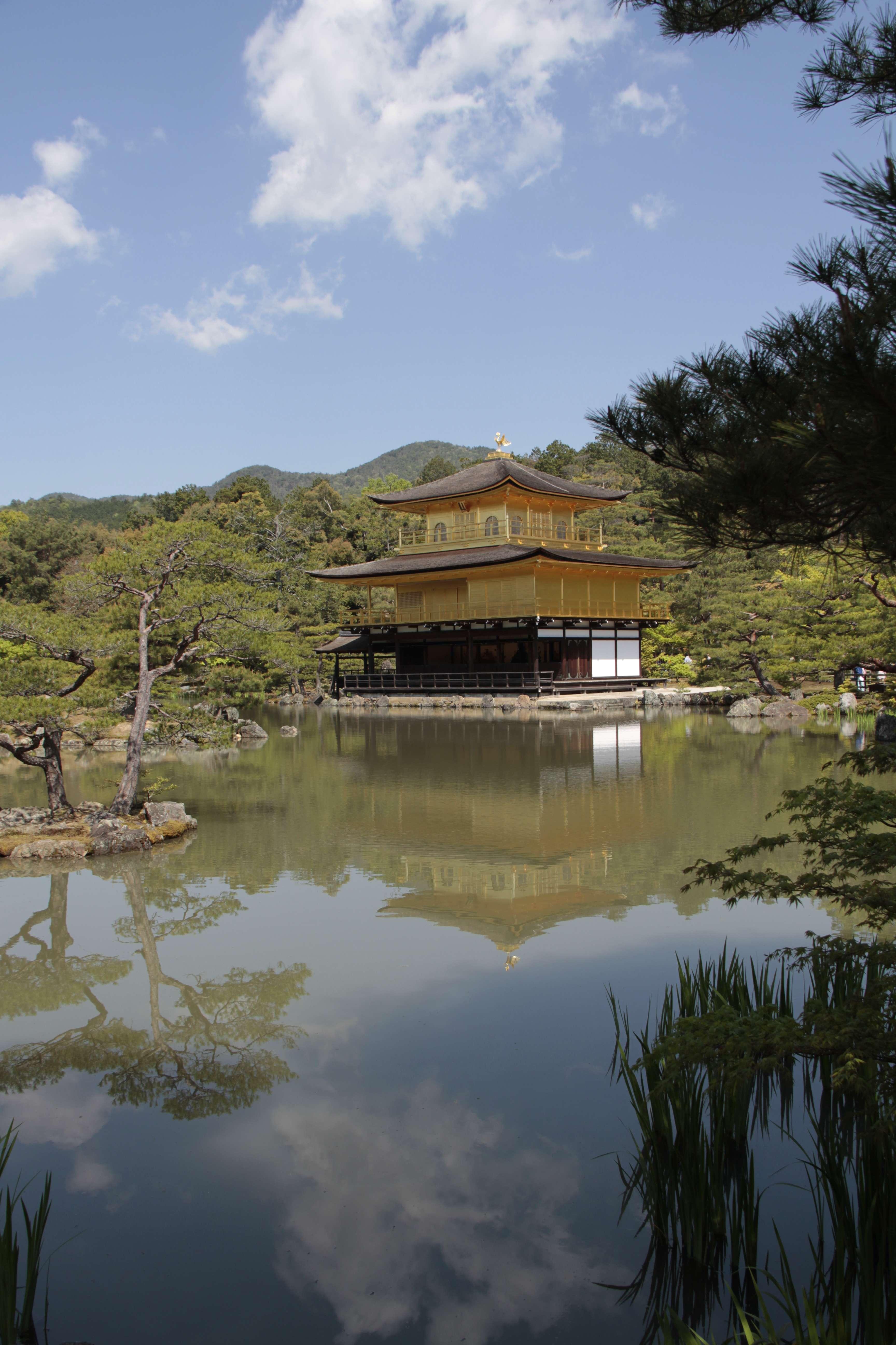 Japon avril 2017_0804 Kyoto Kinkaku Ji dit Pavillon dore