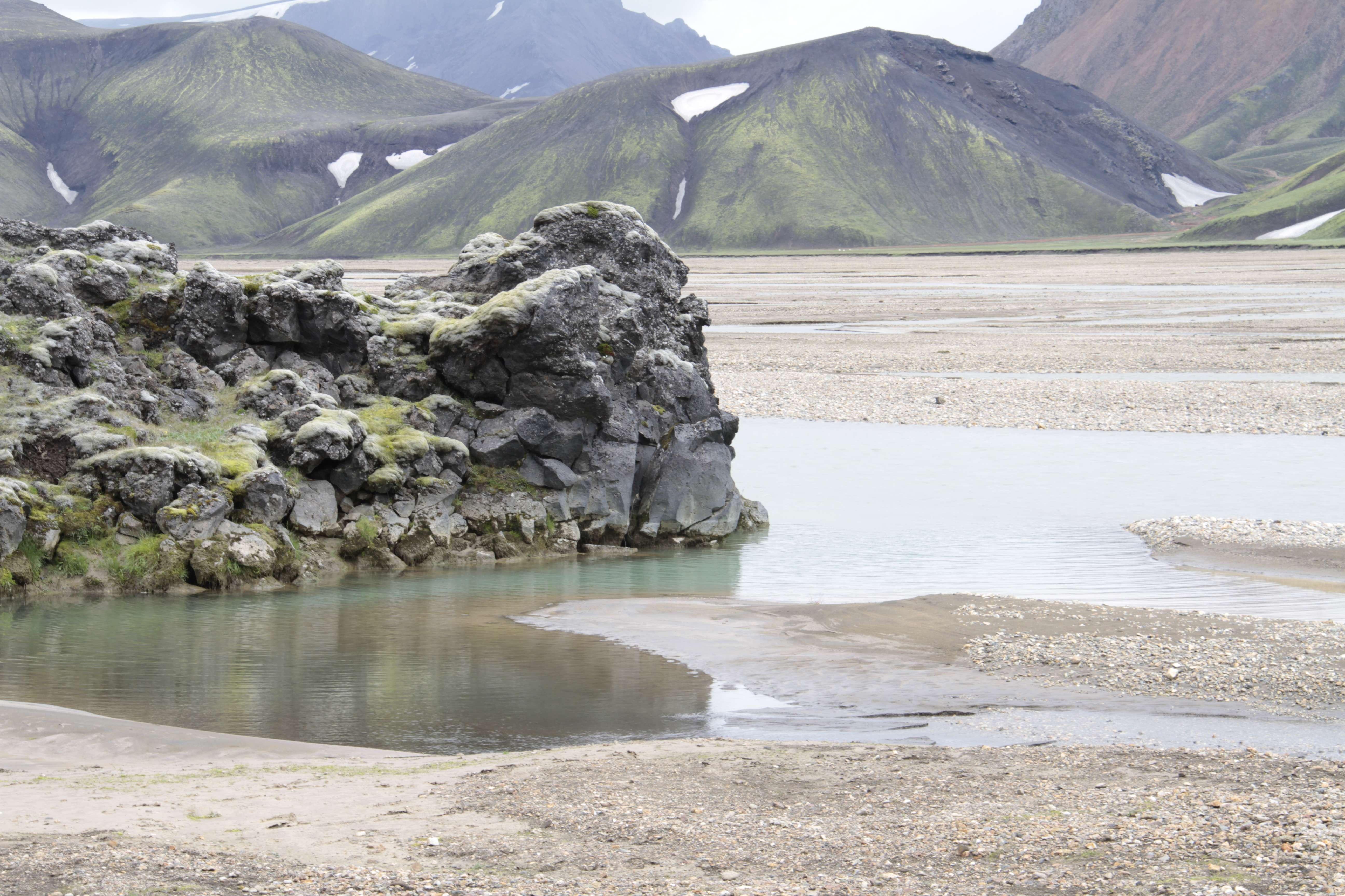 Islande_0506 rando Landmanalaugar 16 juillet