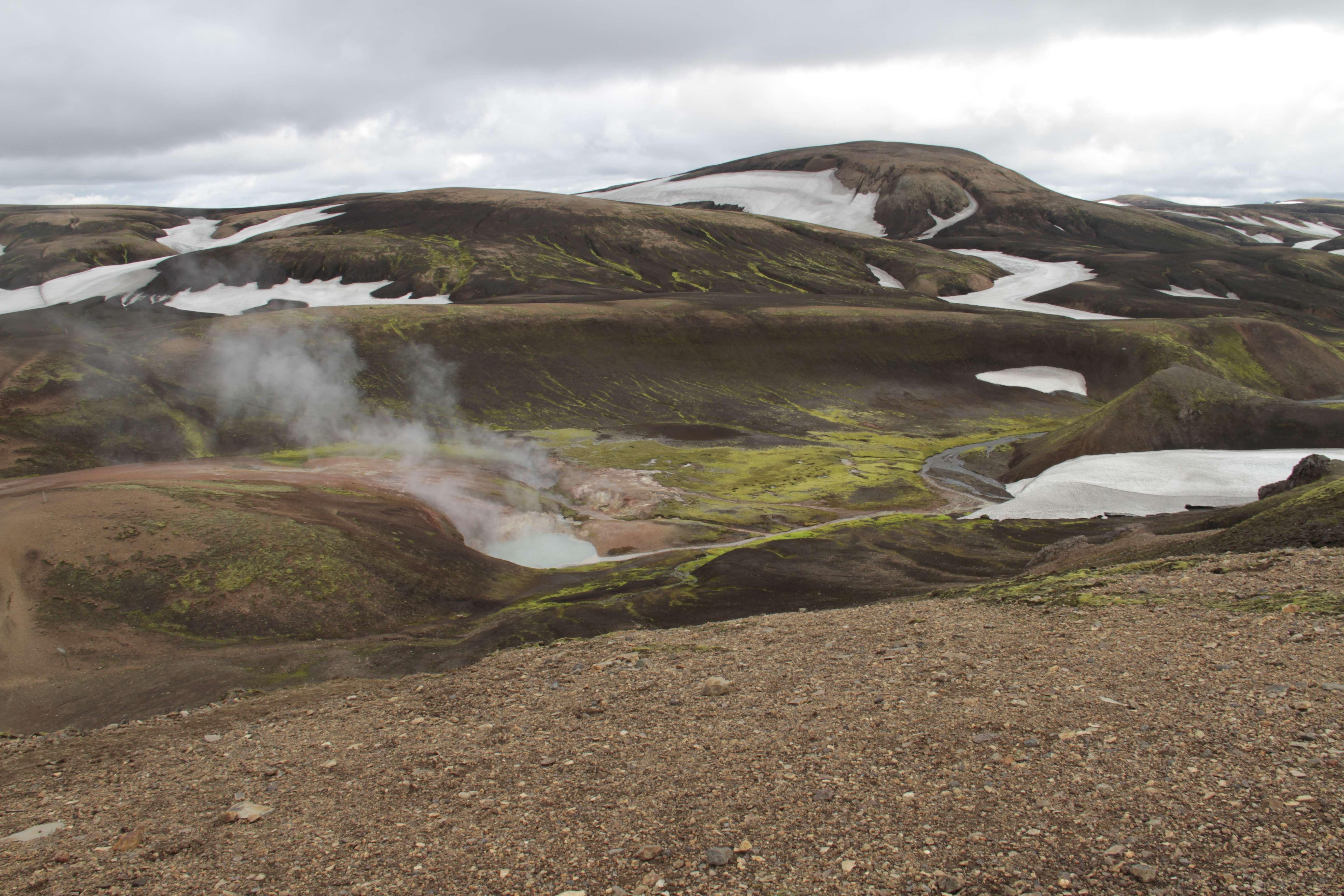 Islande_0533 trail jour 1 Landmanalaugar-Alftavatn 17 juillet