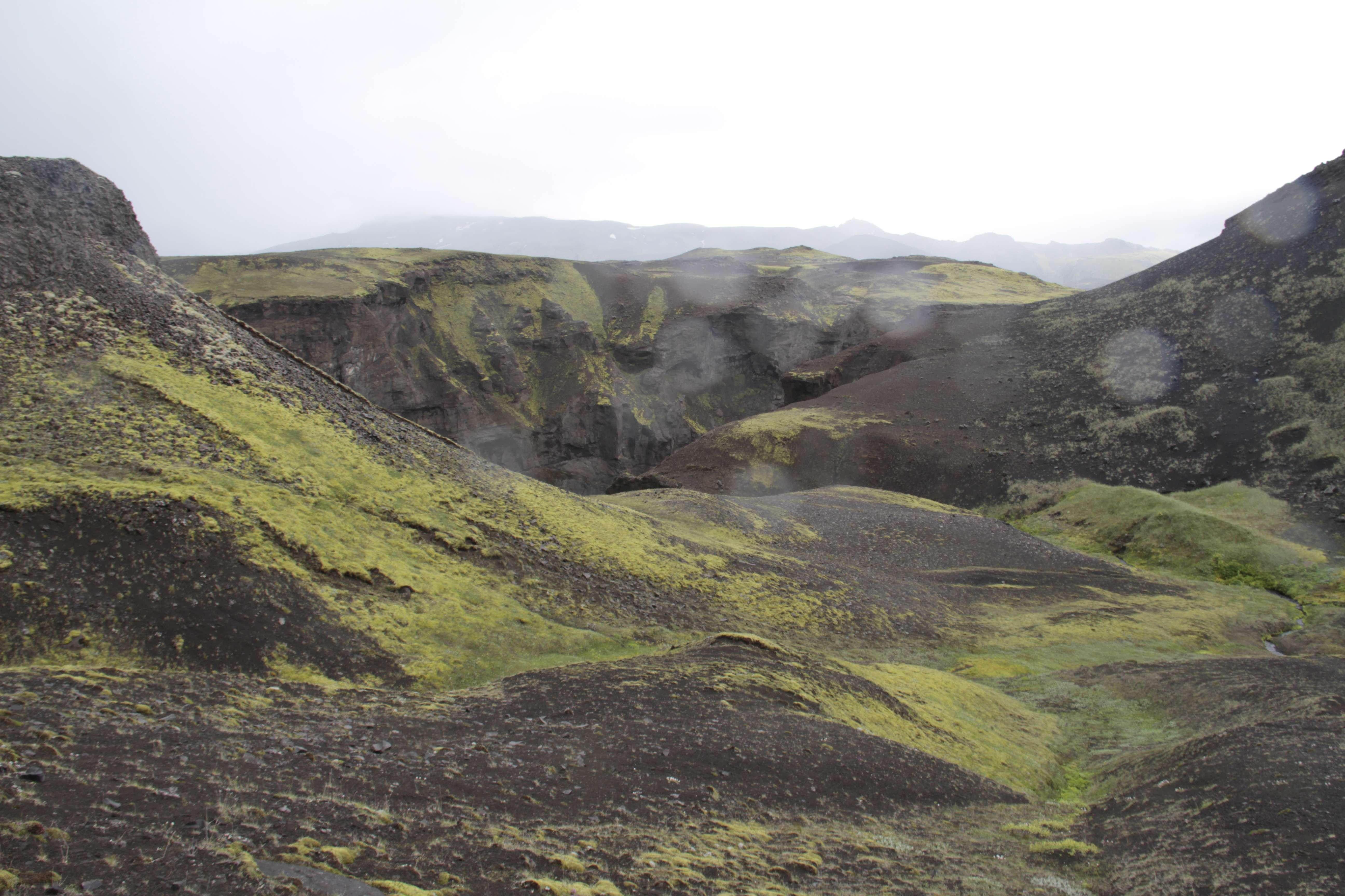 Islande_0584 trail jour 2 Emstrur - le canyon Markatflojogur 18 juillet