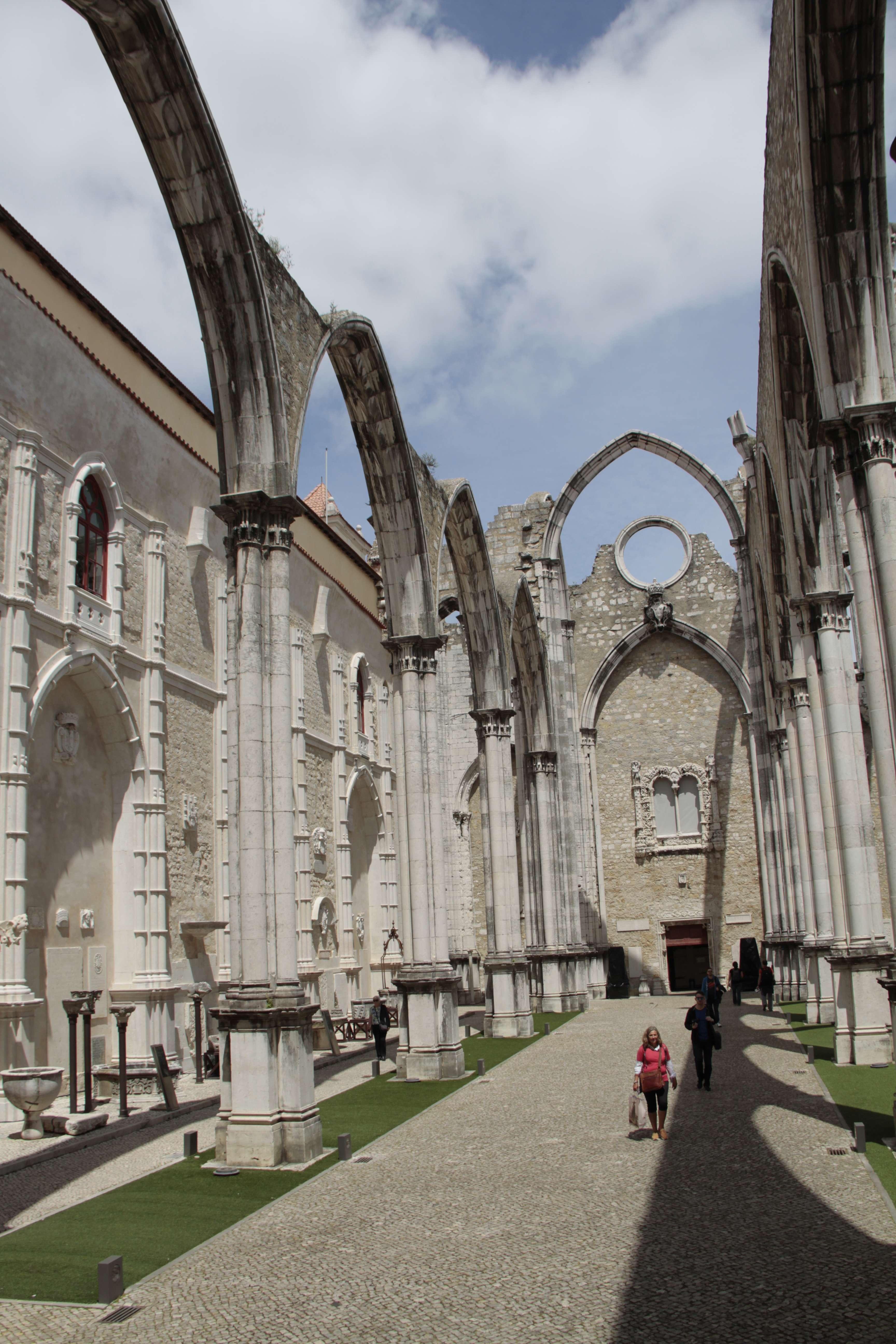 Portugal mai 2018_0162 Lisbonne couvent des Carmes