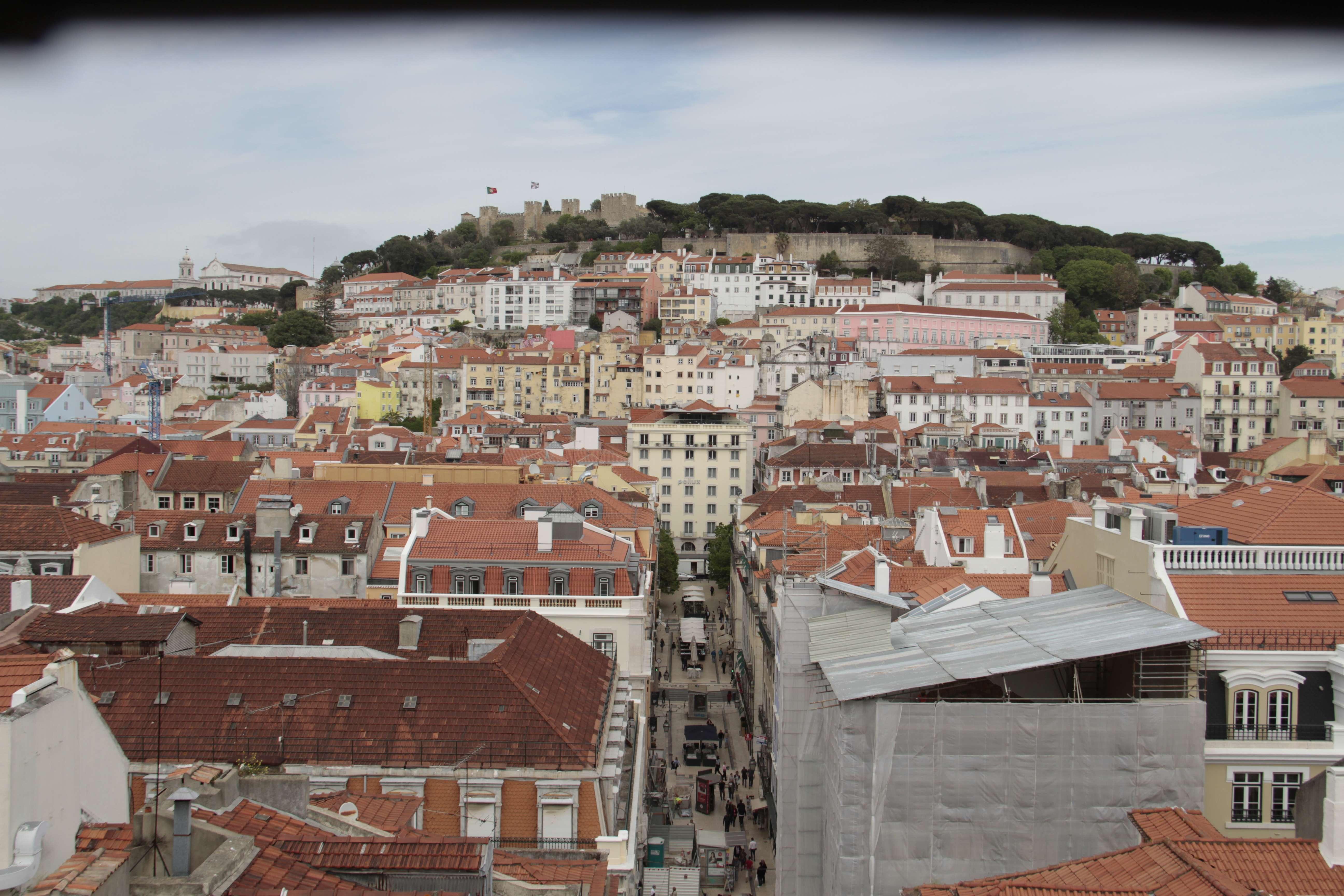 Portugal mai 2018_0173 Lisbonne depuis le couvent des Carmes