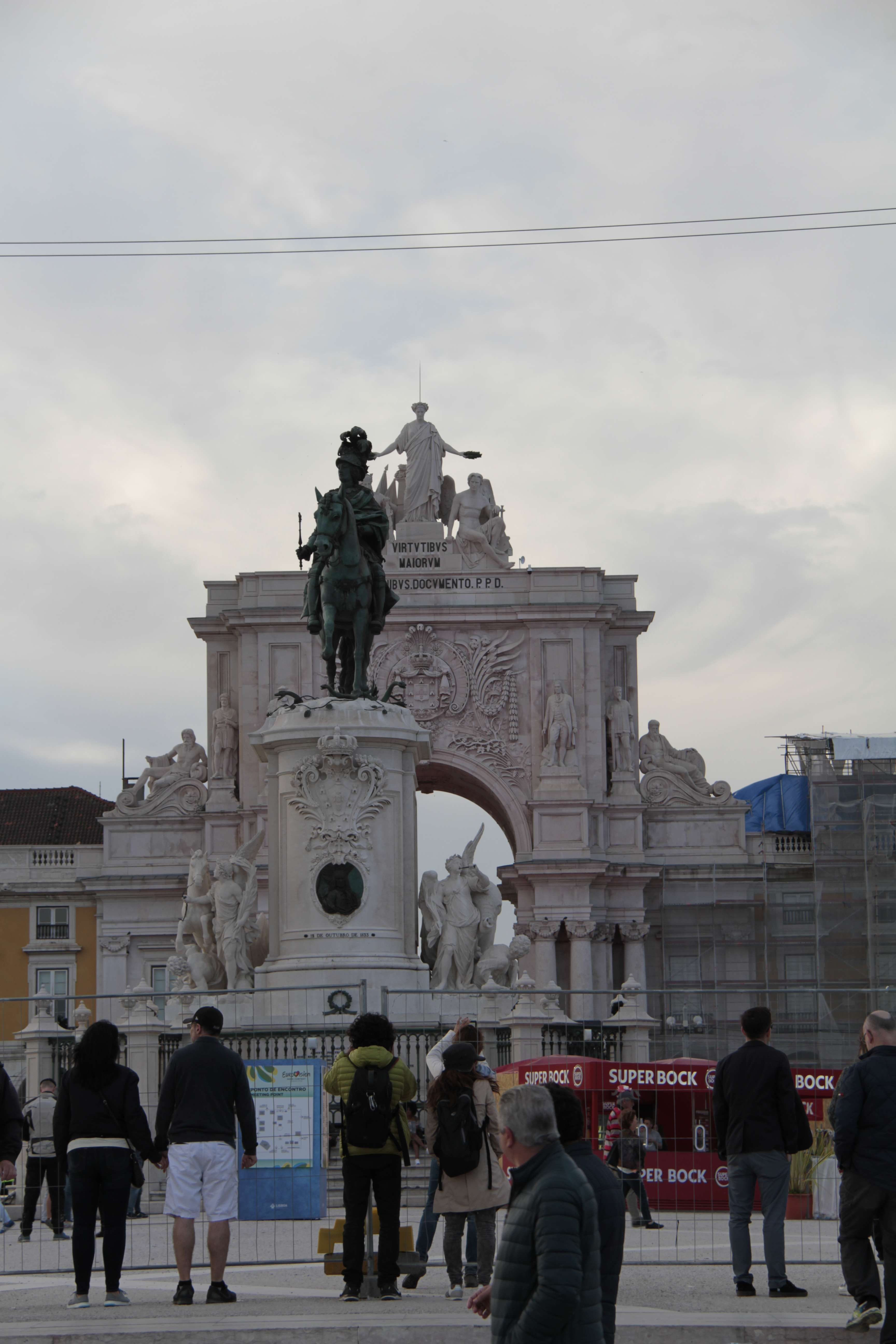Portugal mai 2018_0192 Lisbonne Baixa Place du Commerce