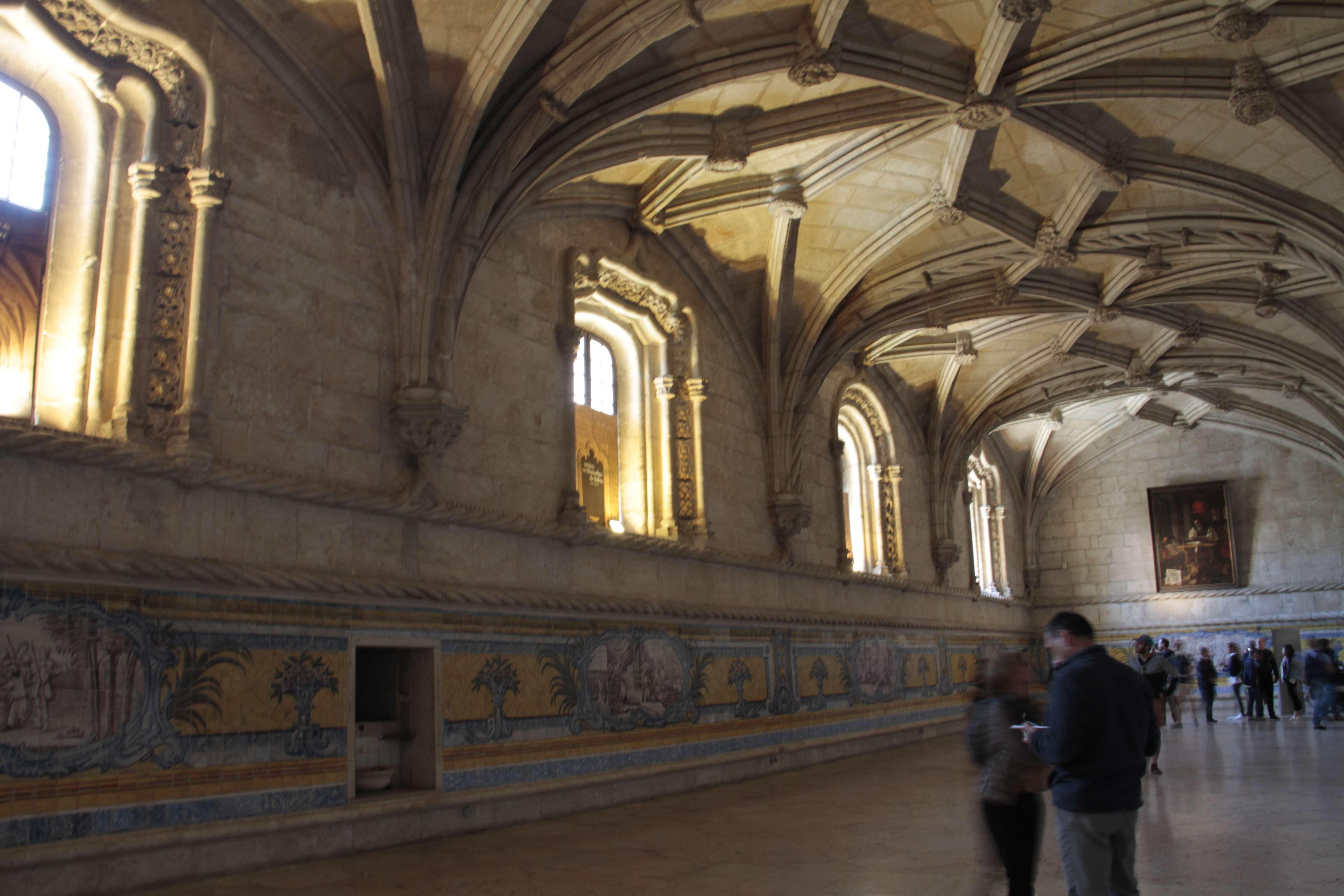 Portugal mai 2018_0335 Lisbonne Belem Monastere des Hieronymites refectoire