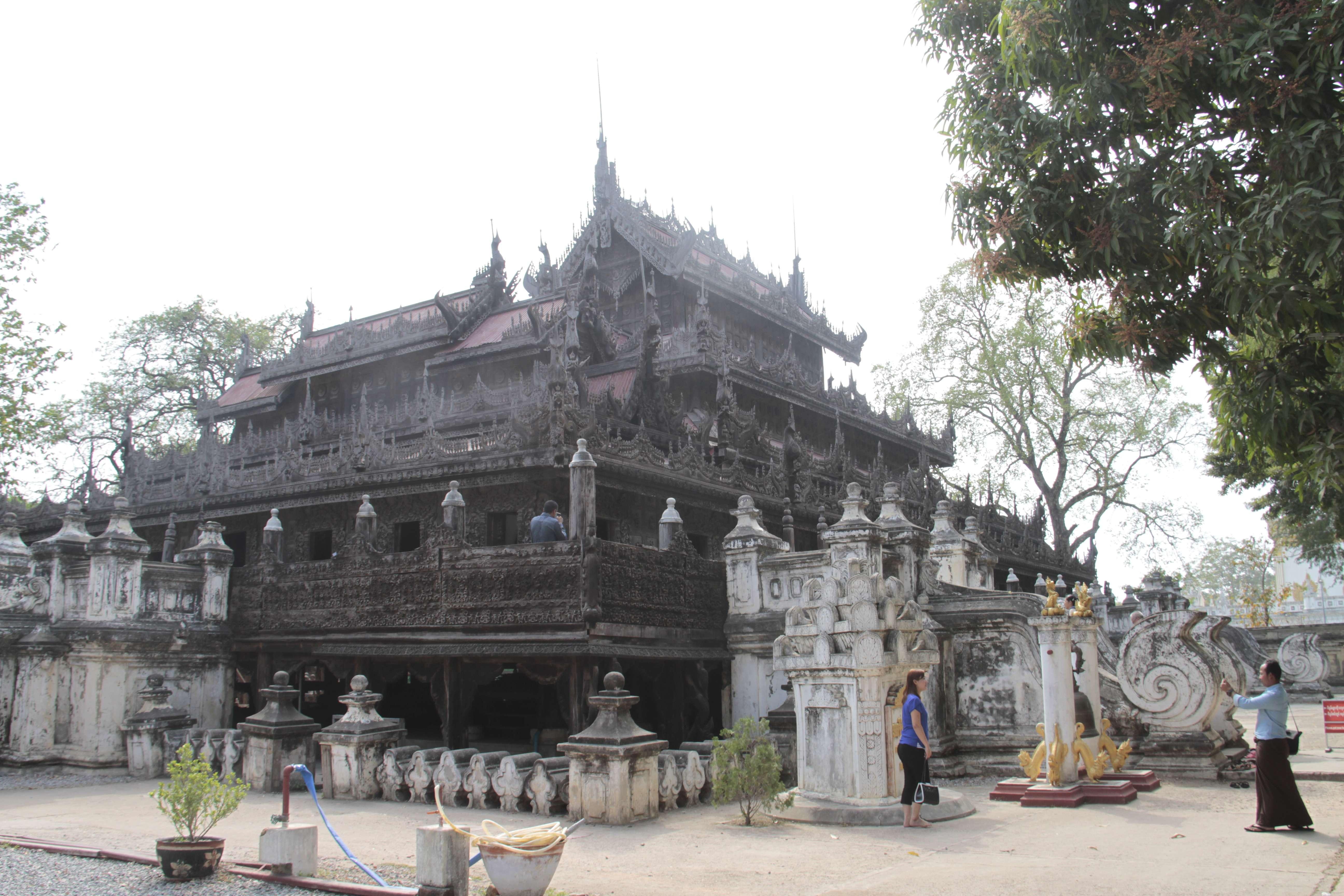 Myanmar fevrier 2019_0886 Mandalay Shwe Nandaw Monastery