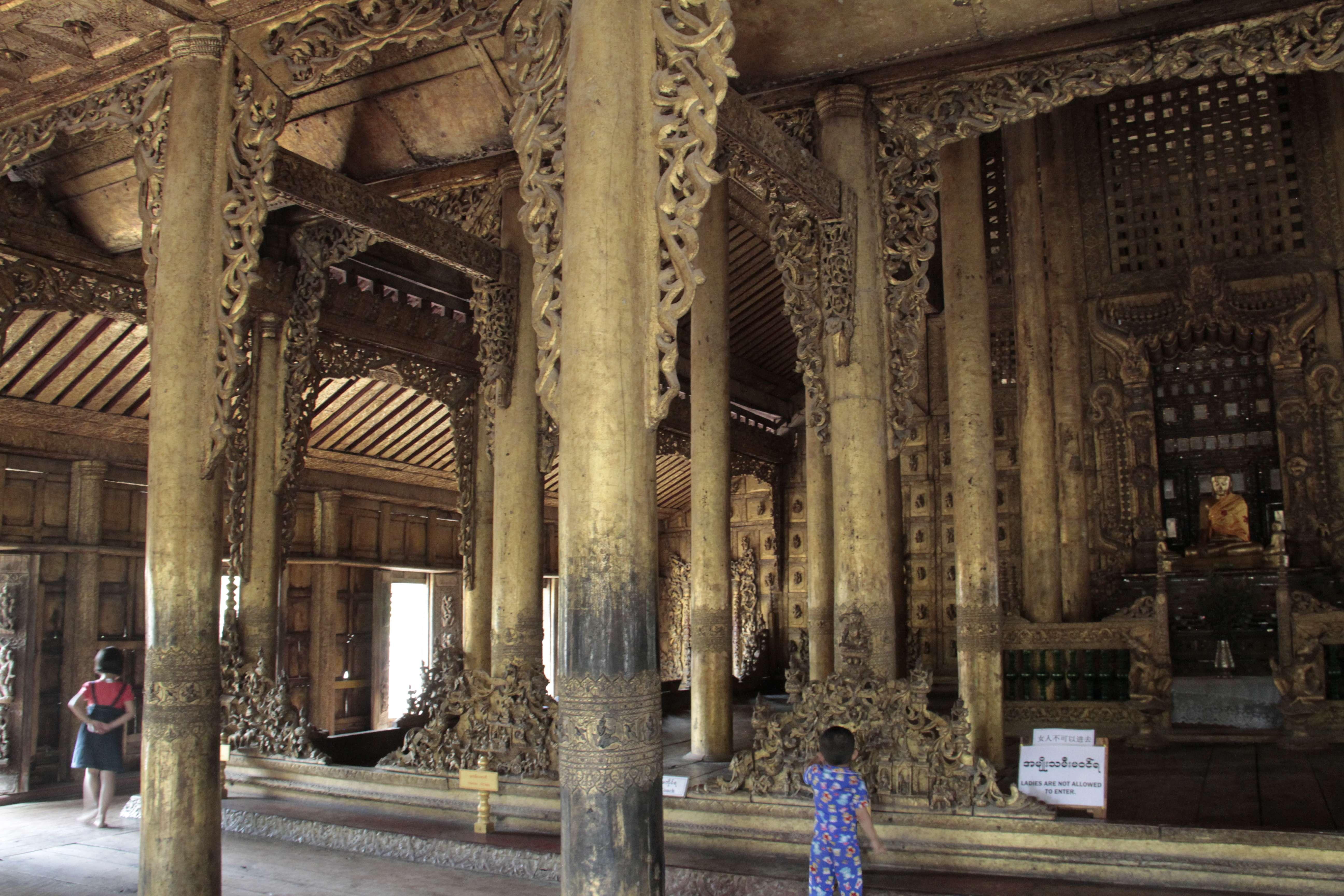 Myanmar fevrier 2019_0892 Mandalay Shwe Nandaw Monastery