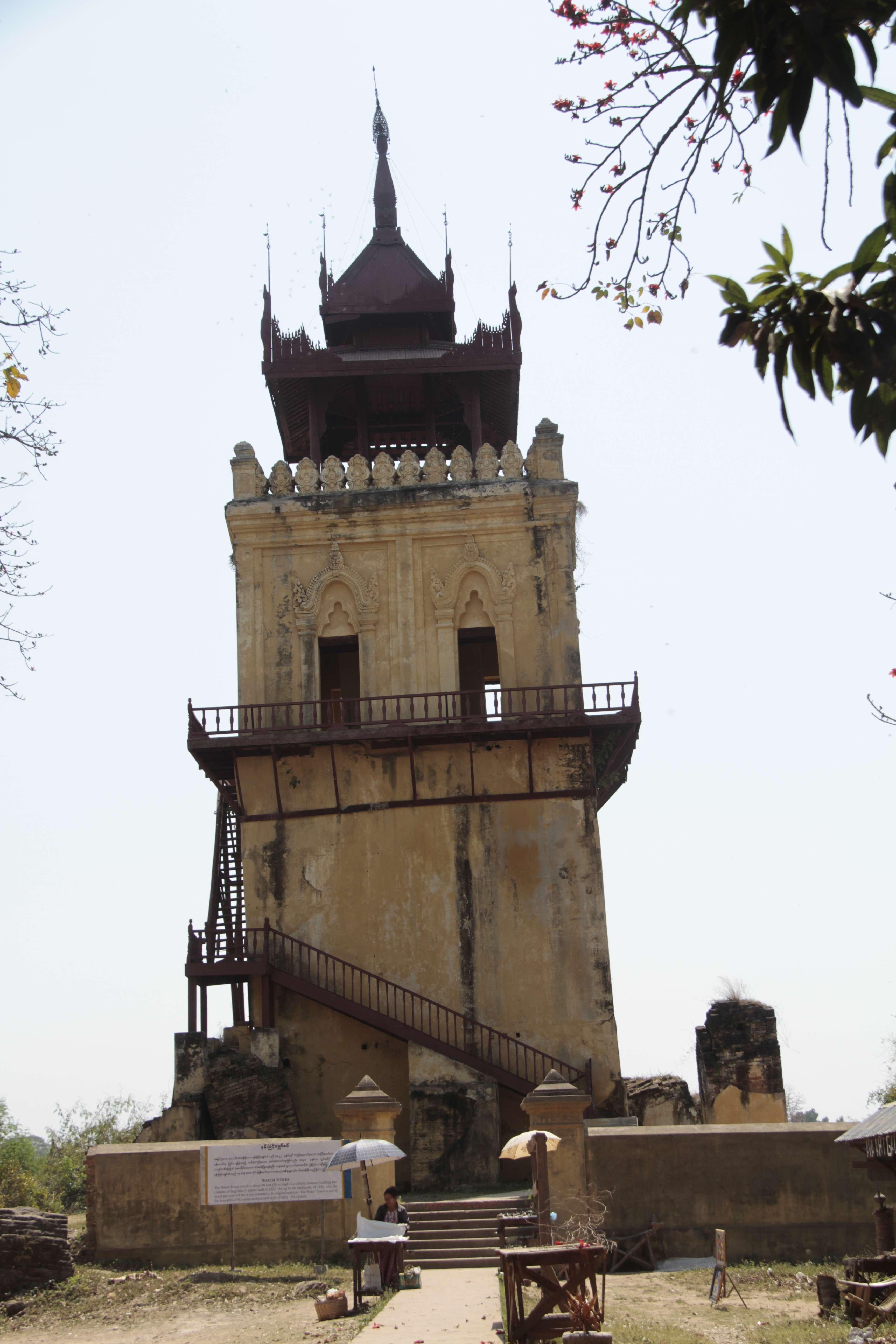 Myanmar fevrier 2019_0965 Mandalay Inwa tour du palais