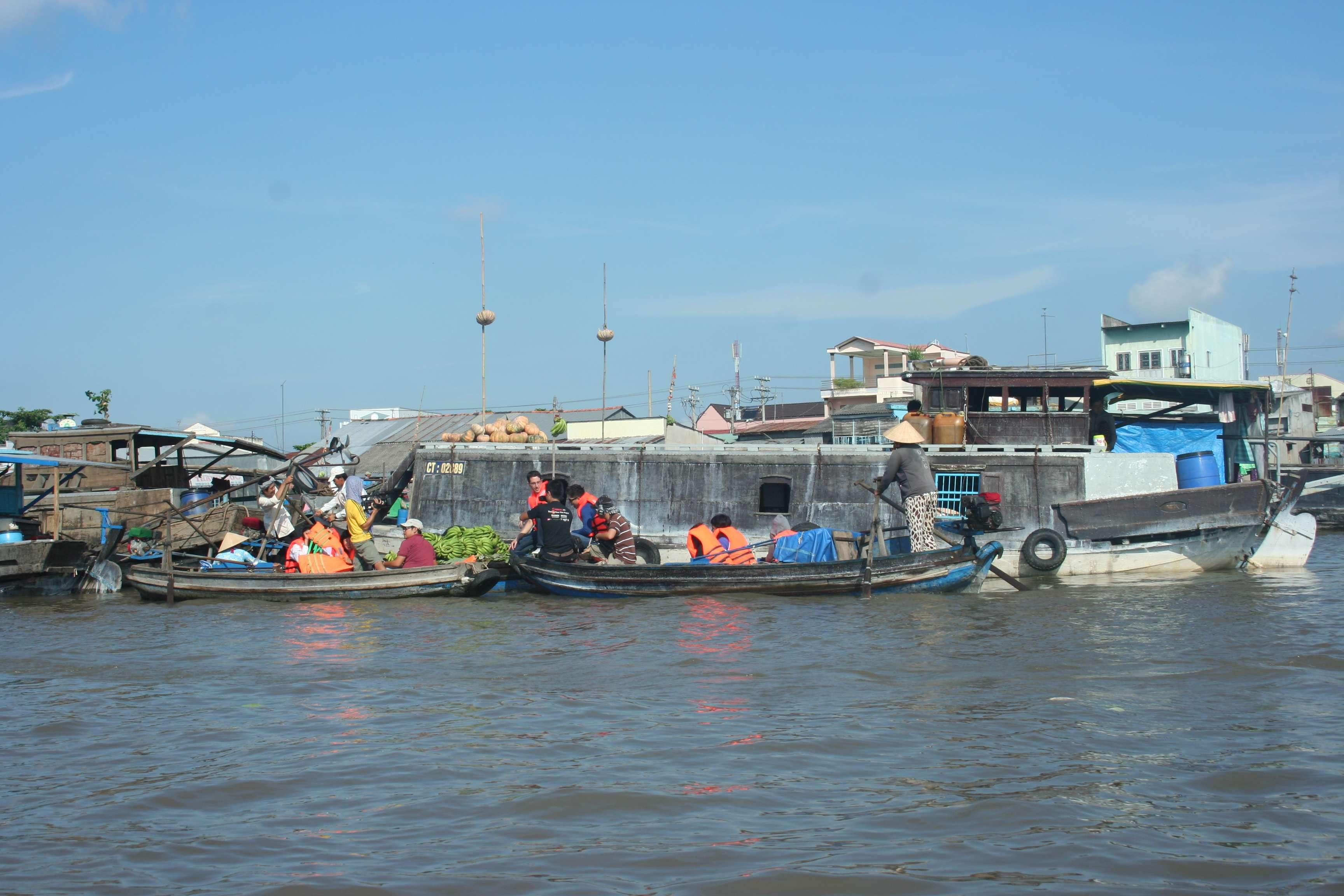 20120420_432 Delta du Mekong marche flottant