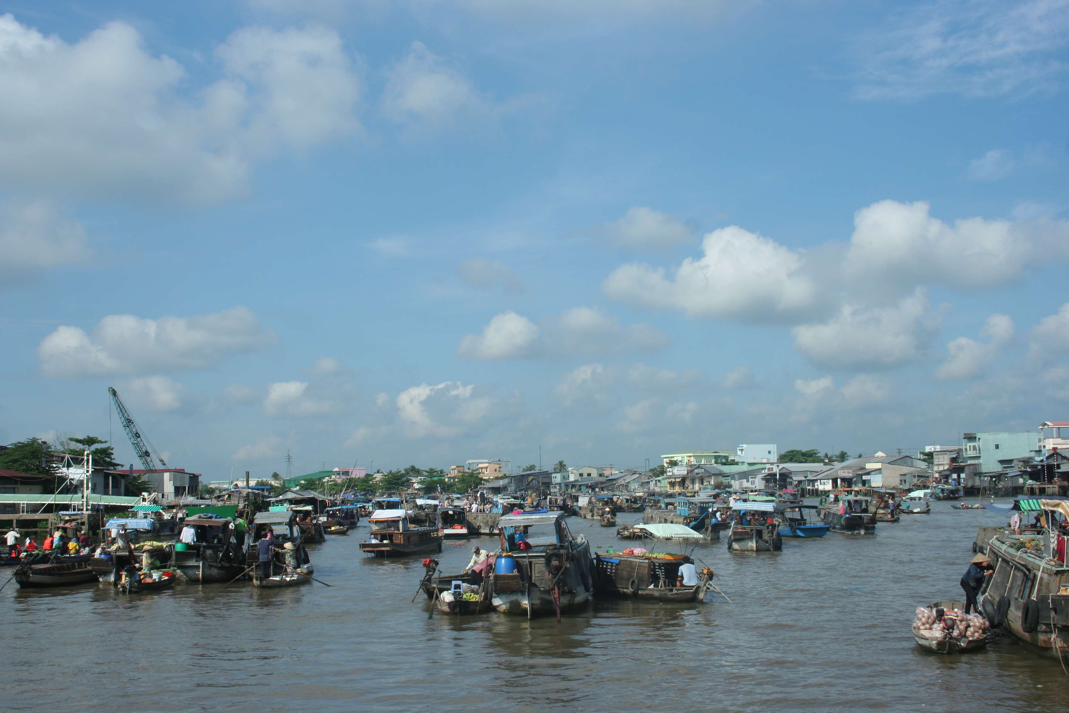 20120420_438 Delta du Mekong marche flottant
