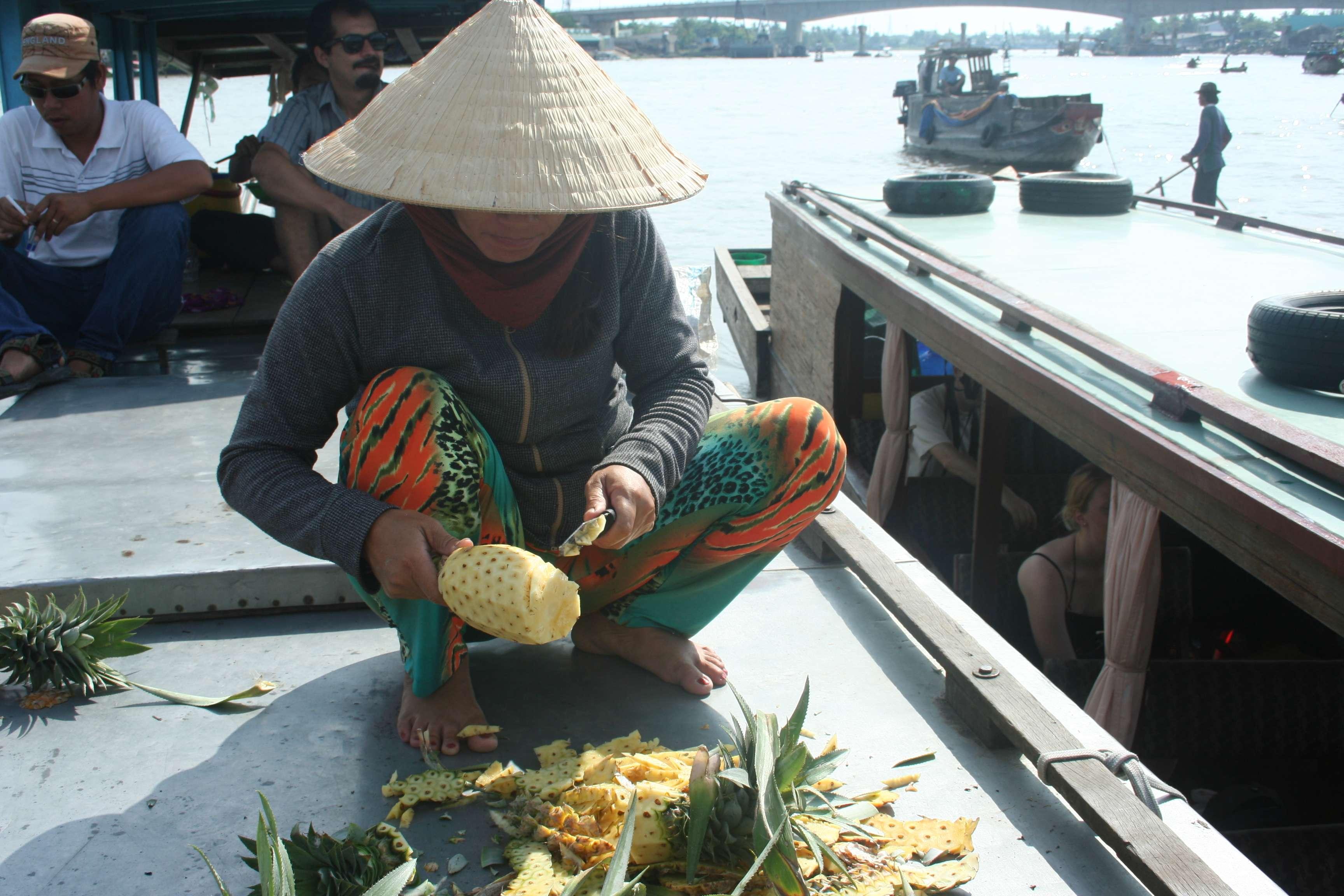 20120420_440 Delta du Mekong marche flottant