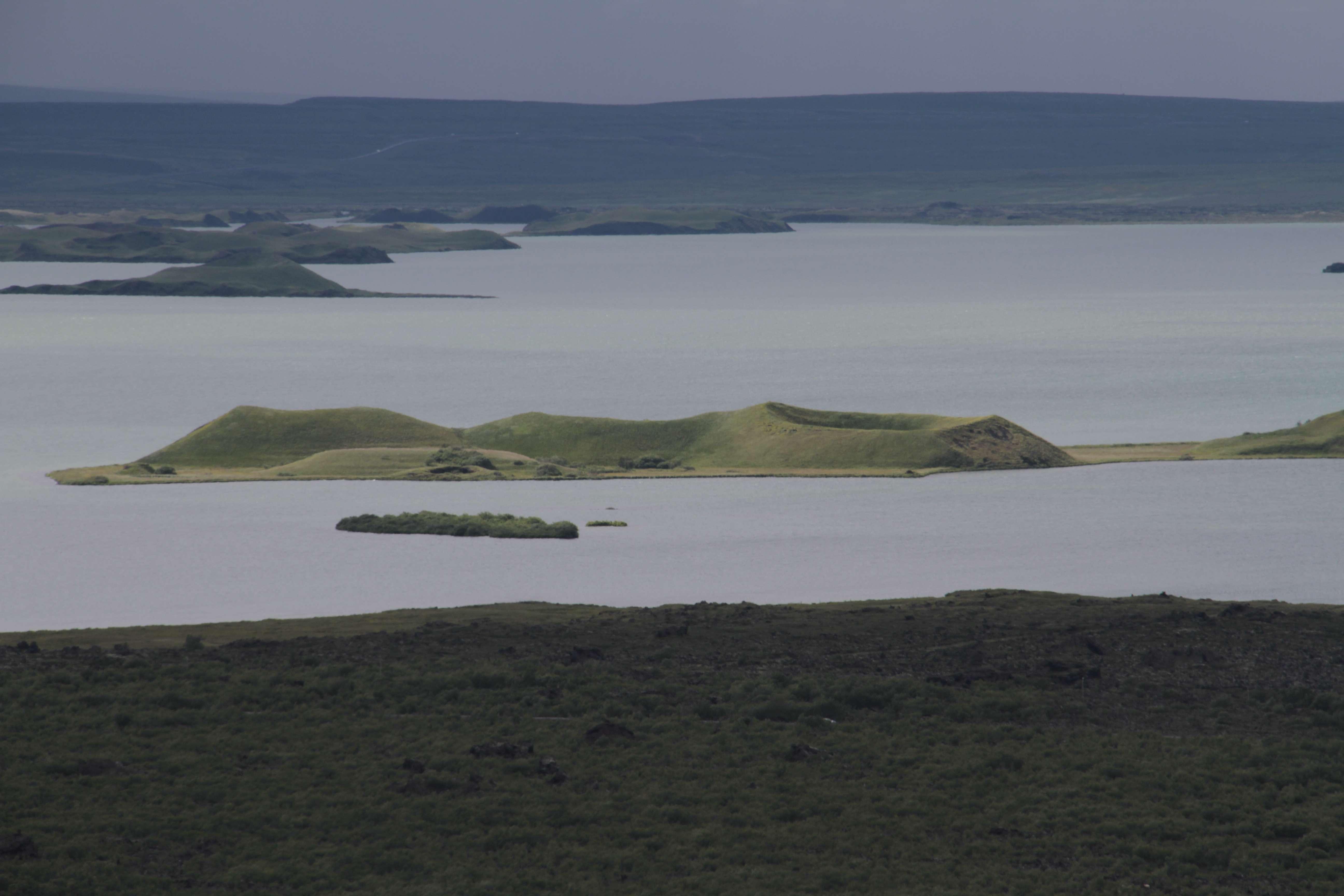 Islande_0248 rando Hofdi-Reykjahlid - Hverfjall 12 juillet