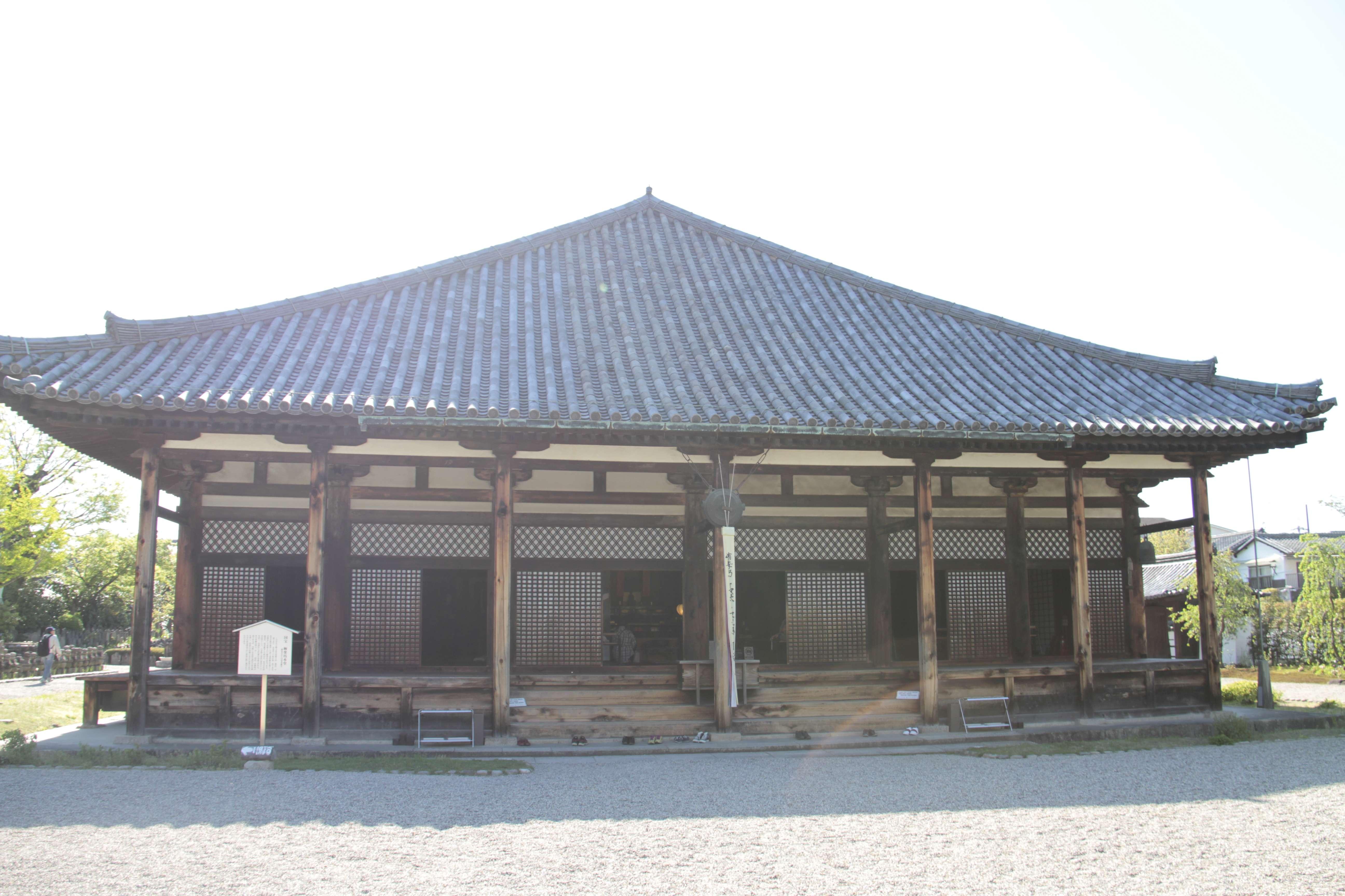 Japon avril 2017_0453 Nara temple bouddhiste Gango ji