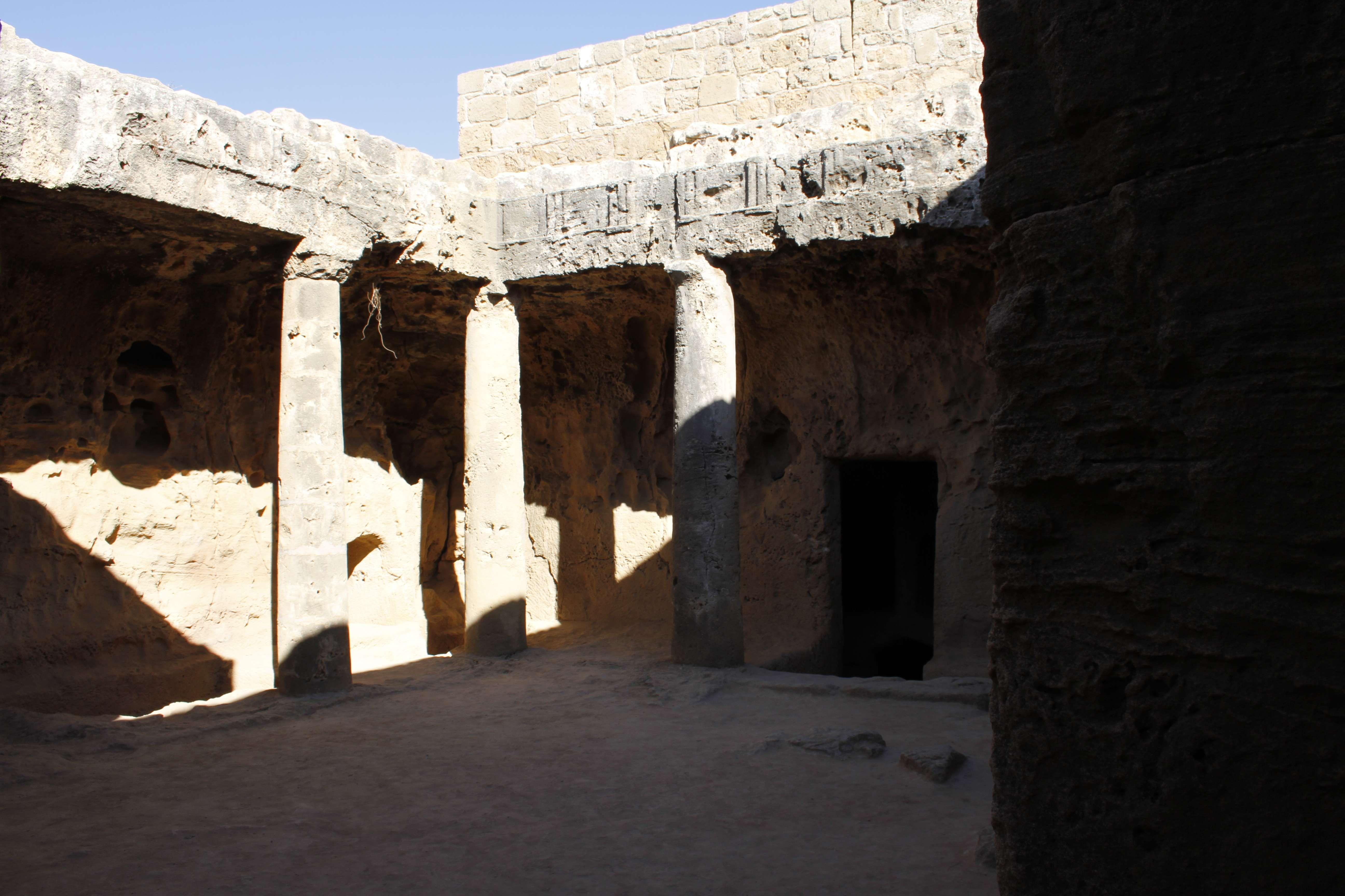 Chypre_0216 Paphos tombes des rois