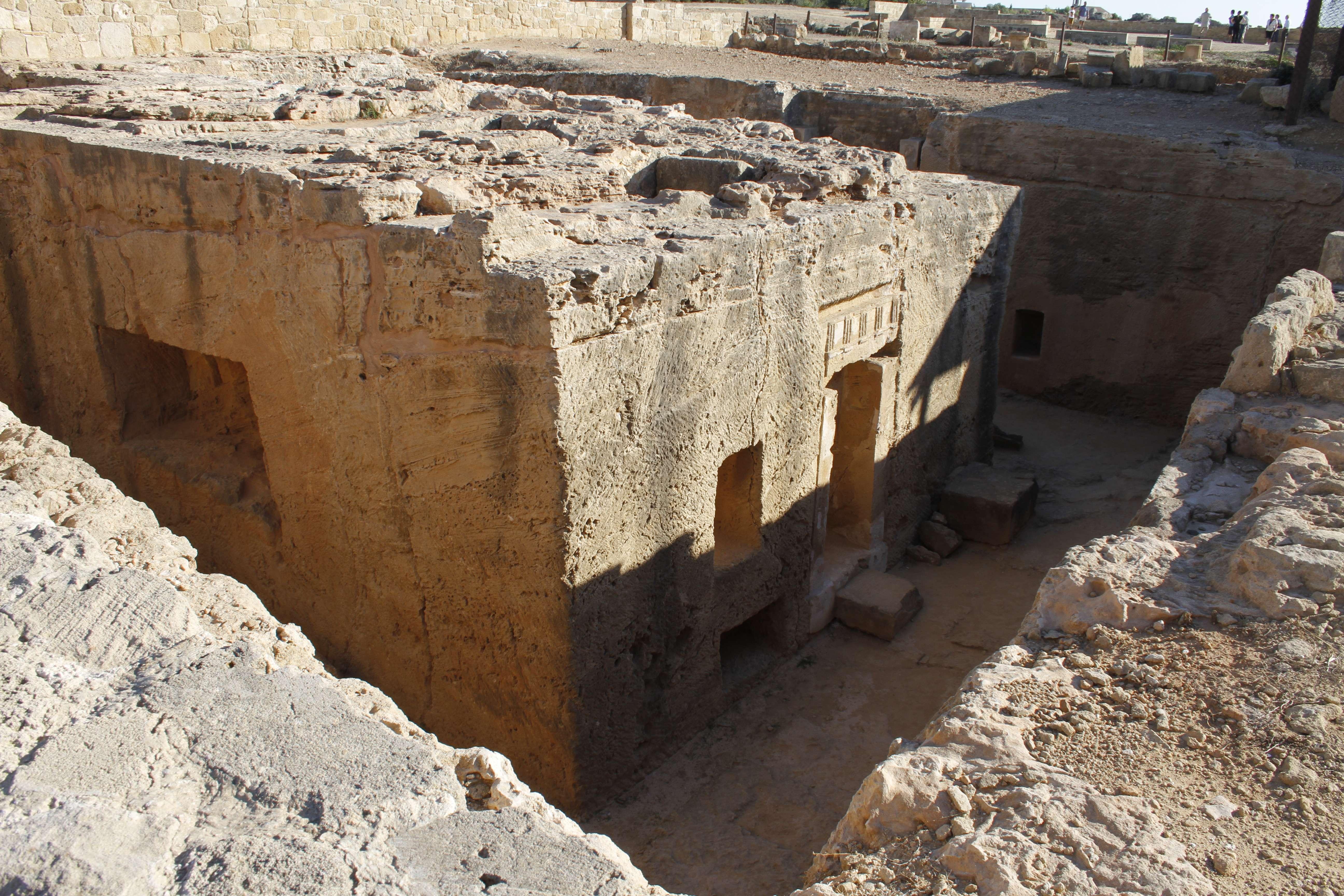 Chypre_0221 Paphos tombes des rois