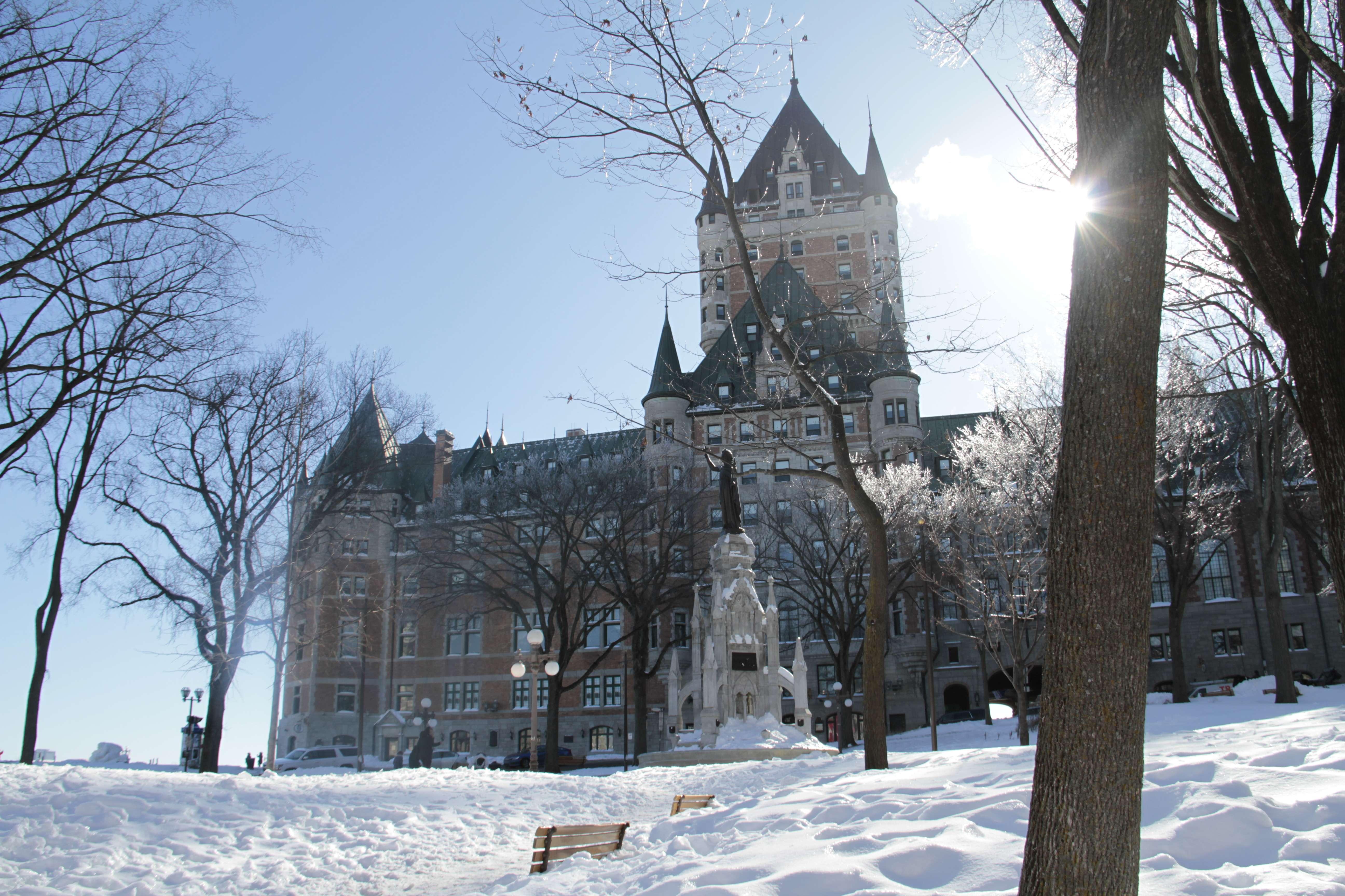 Quebec fevrier 2018_0031 Vieux Quebec chateau Frontenac
