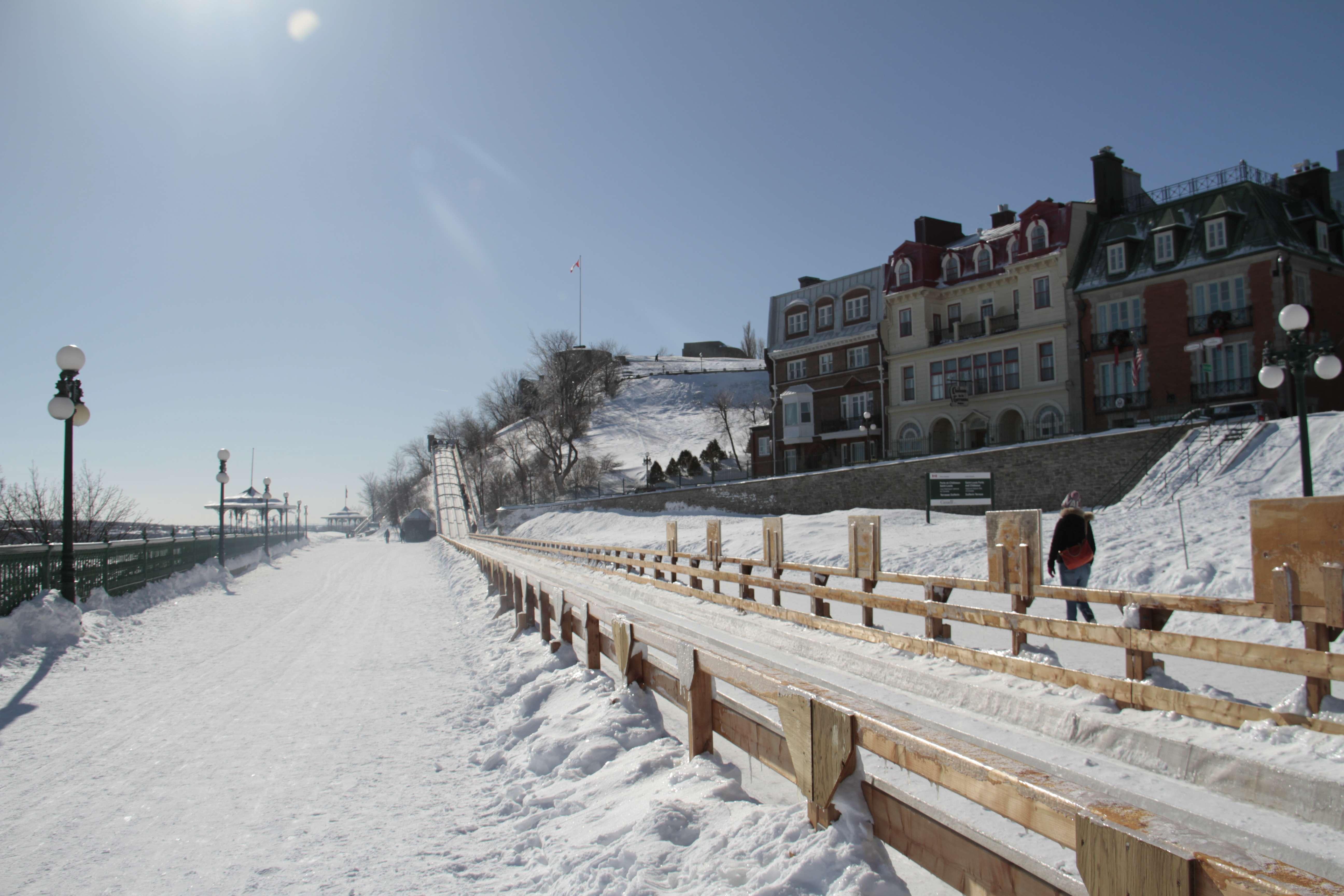 Quebec fevrier 2018_0035 Vieux Quebec promenade des Gouverneurs