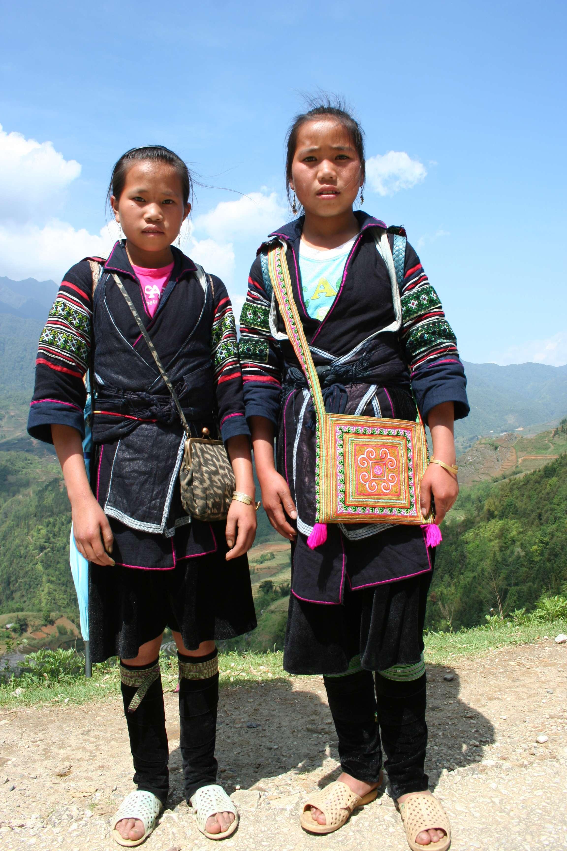 20120412_154 Cho et Thu fillettes H Mong