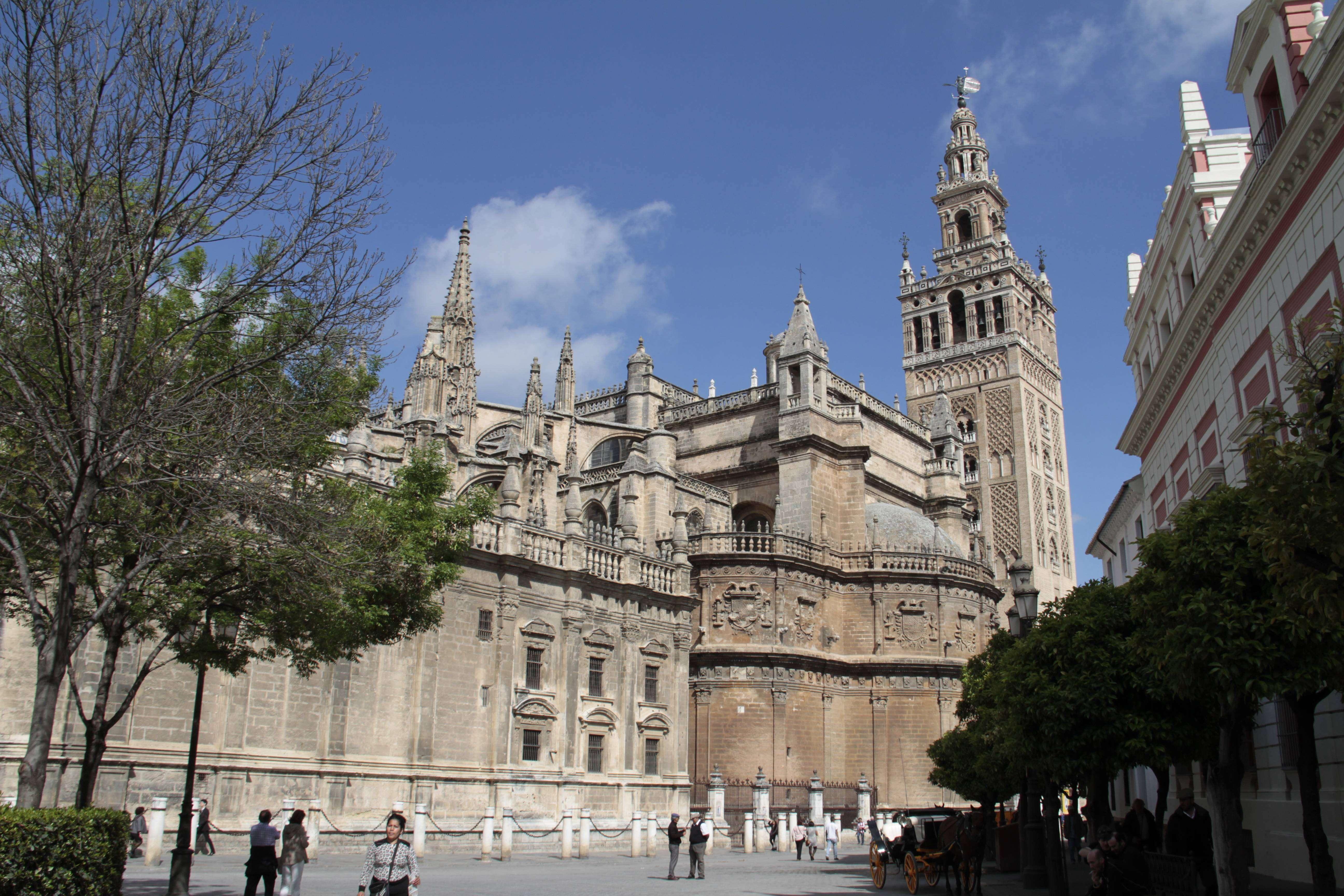 Andalousie _0008 Séville La cathedrale