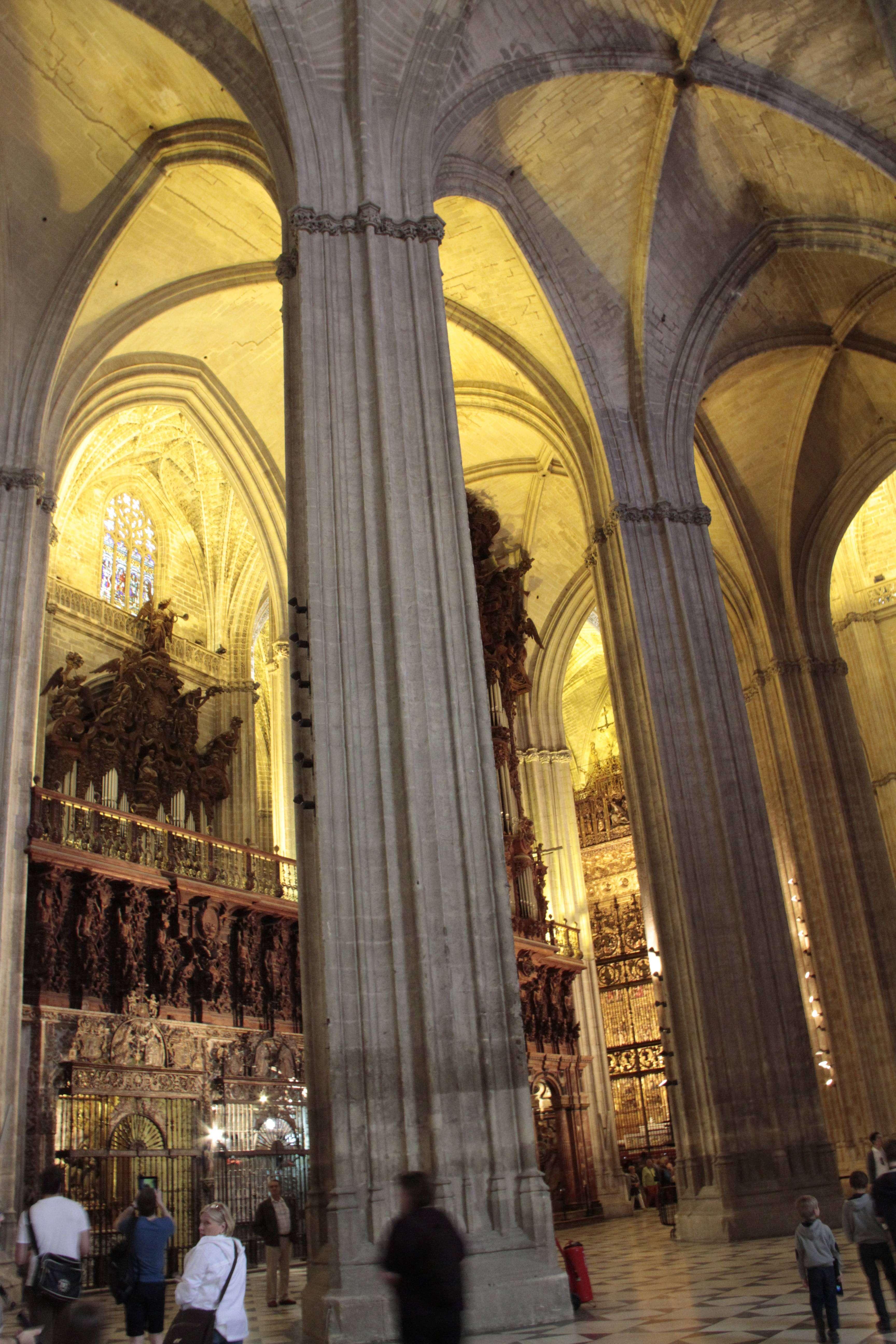 Andalousie _0011 Séville La cathedrale