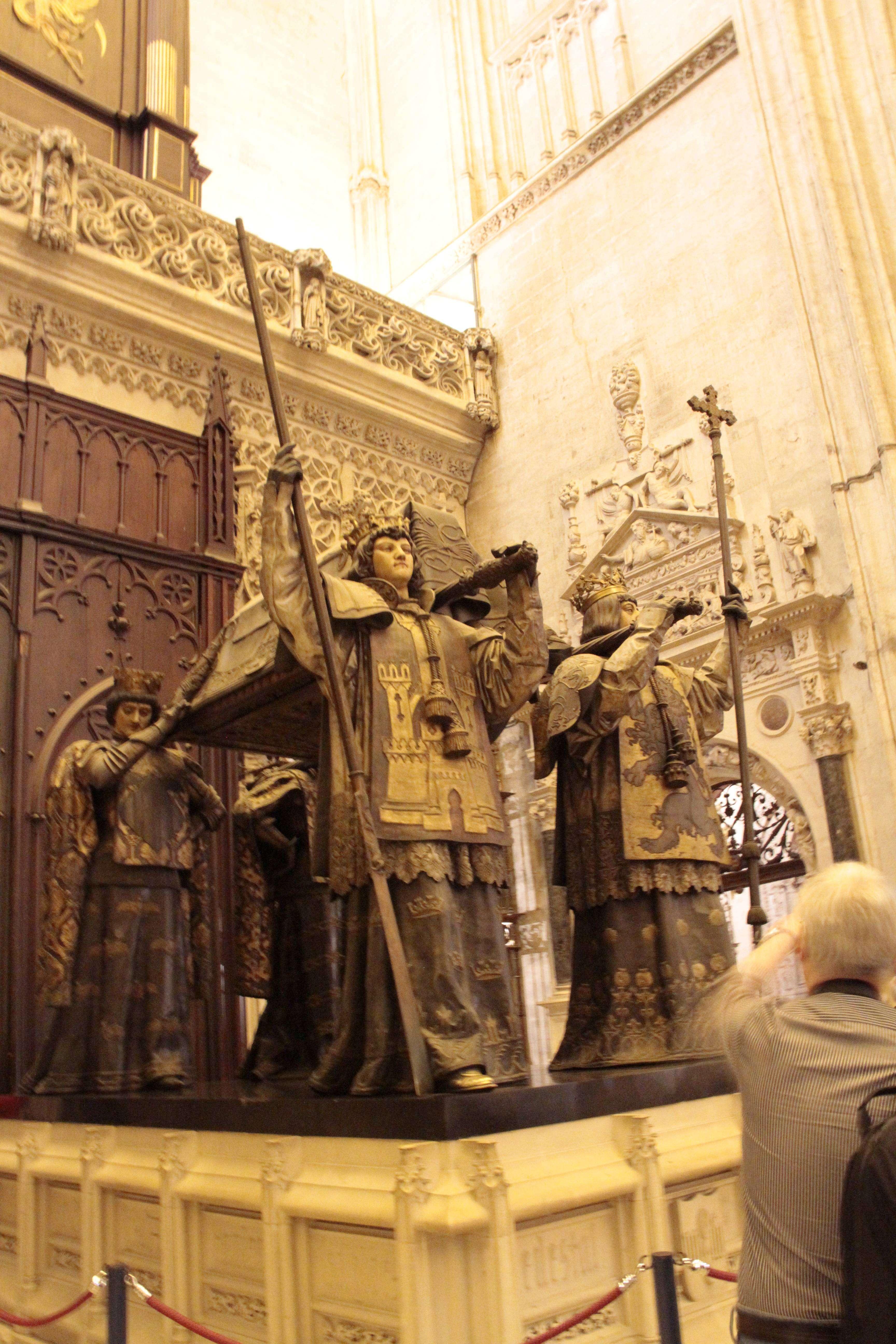 Andalousie _0014 Séville La cathedrale