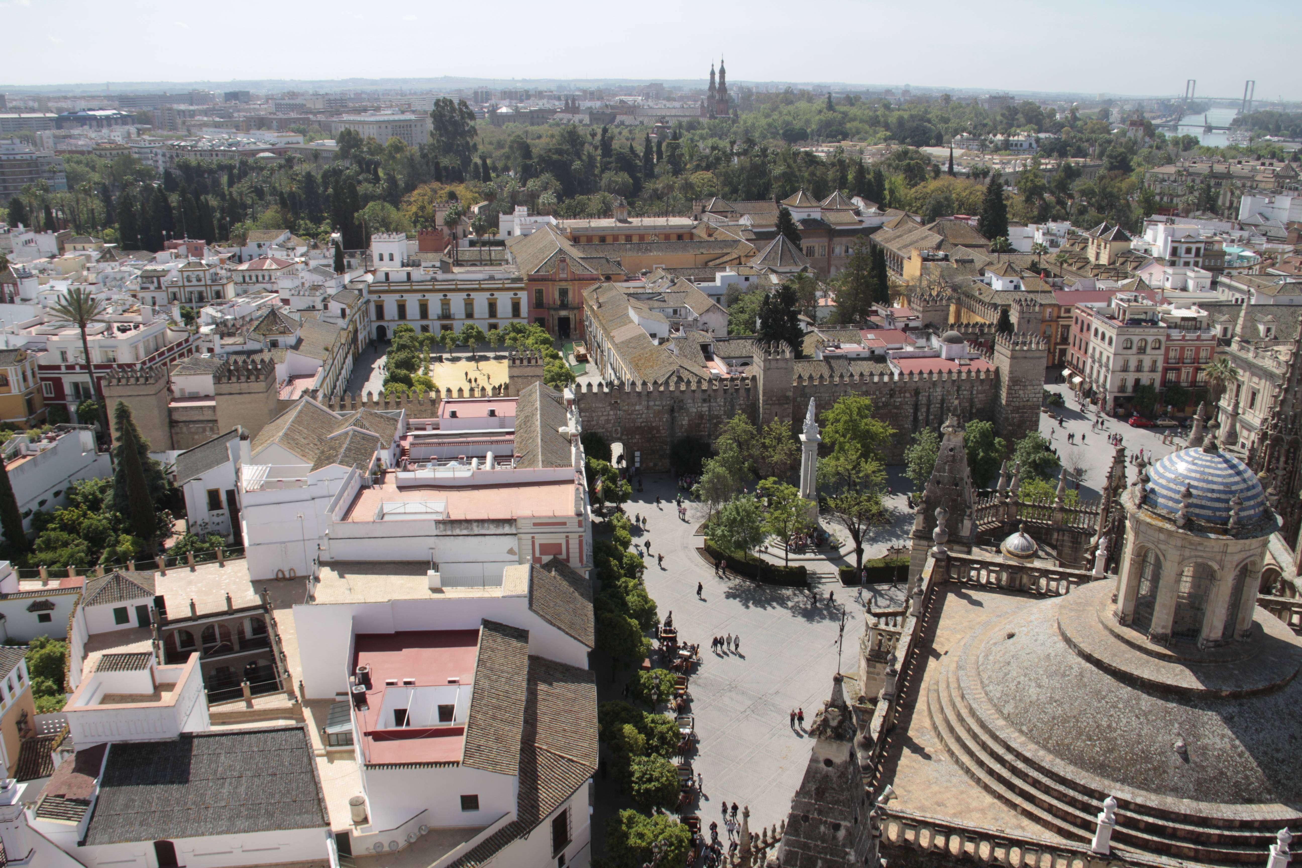 Andalousie _0026 Séville vue depuis La cathedrale