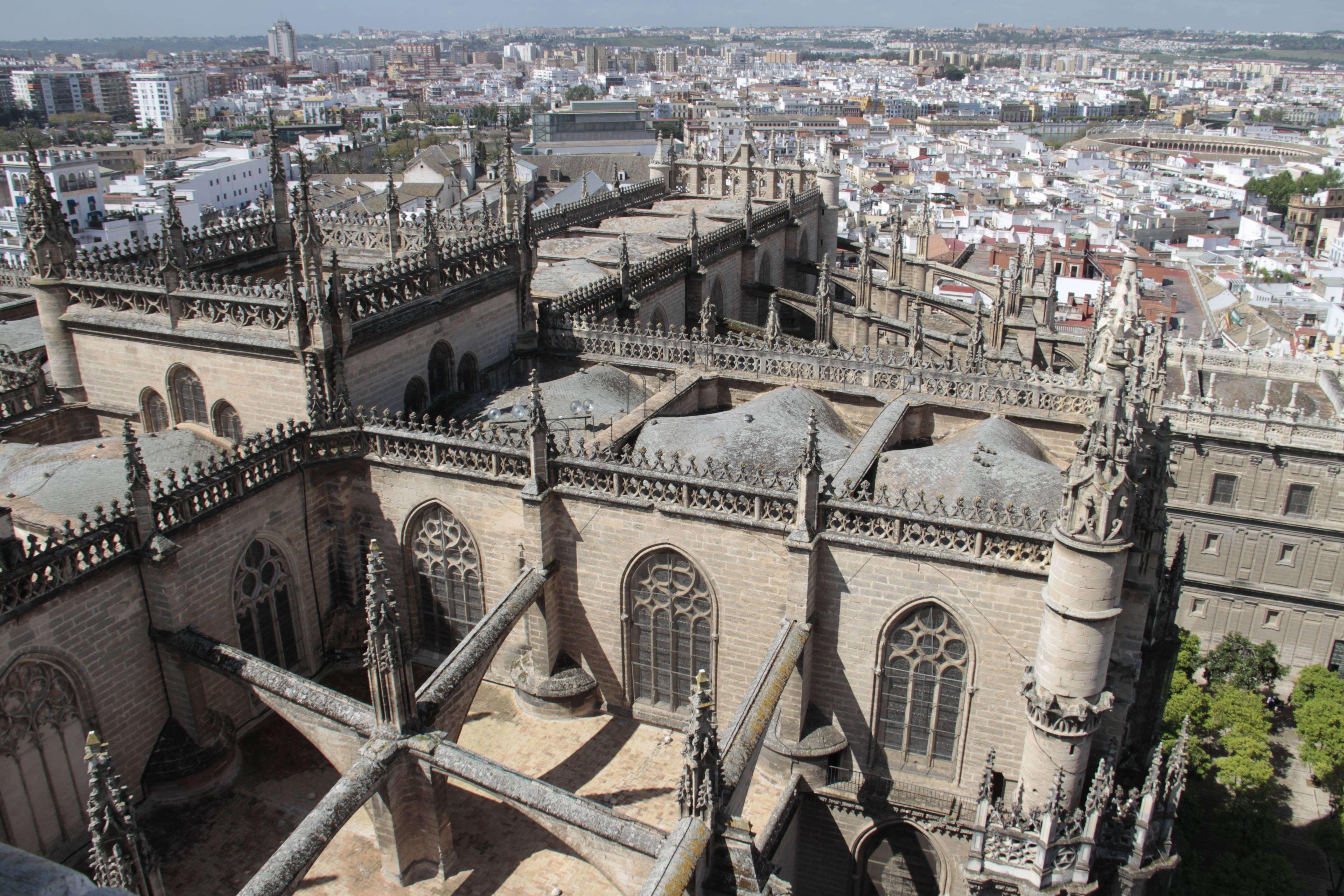 Andalousie _0029 Séville vue depuis La cathedrale