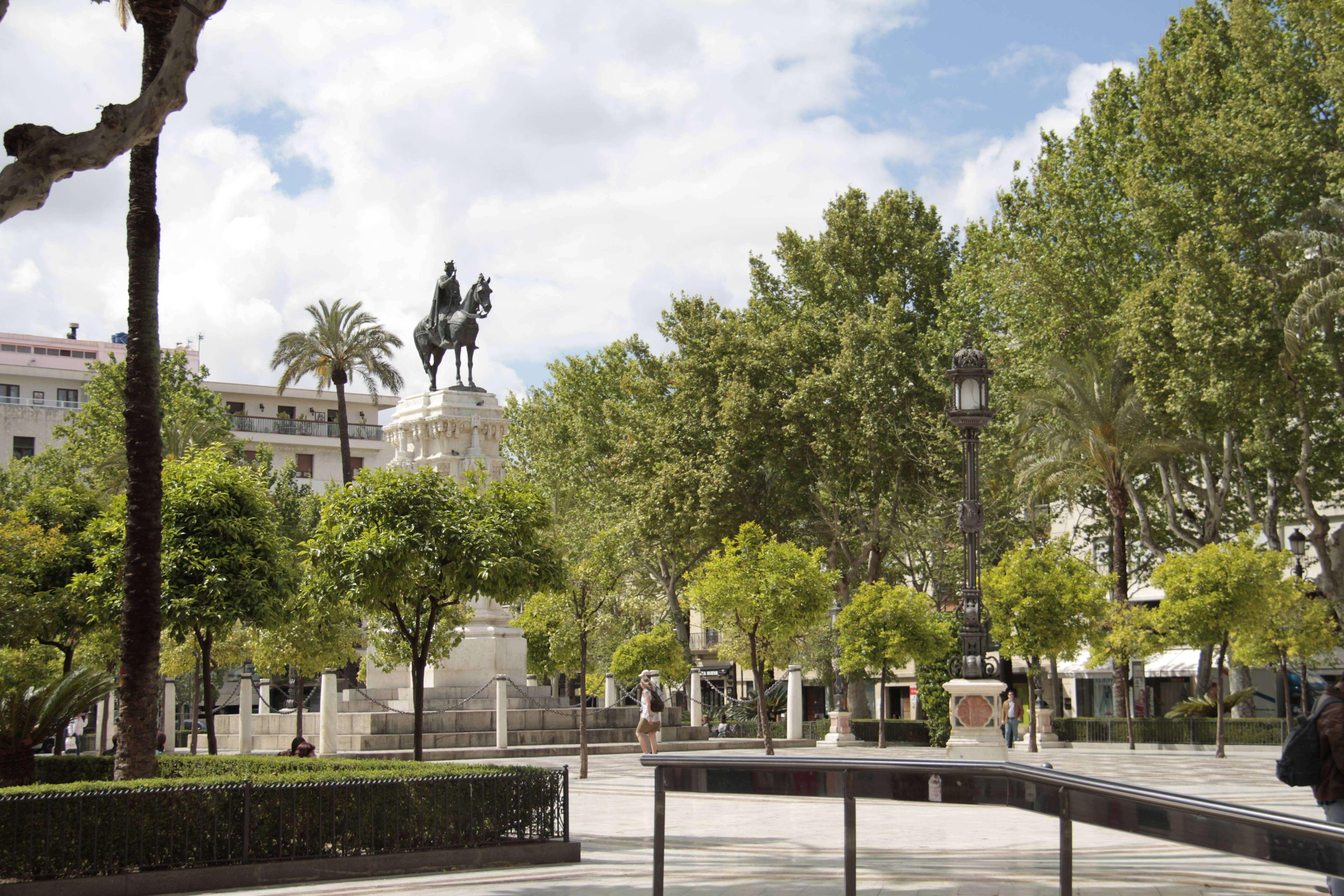 Andalousie _0150 Séville Plaza Nueva